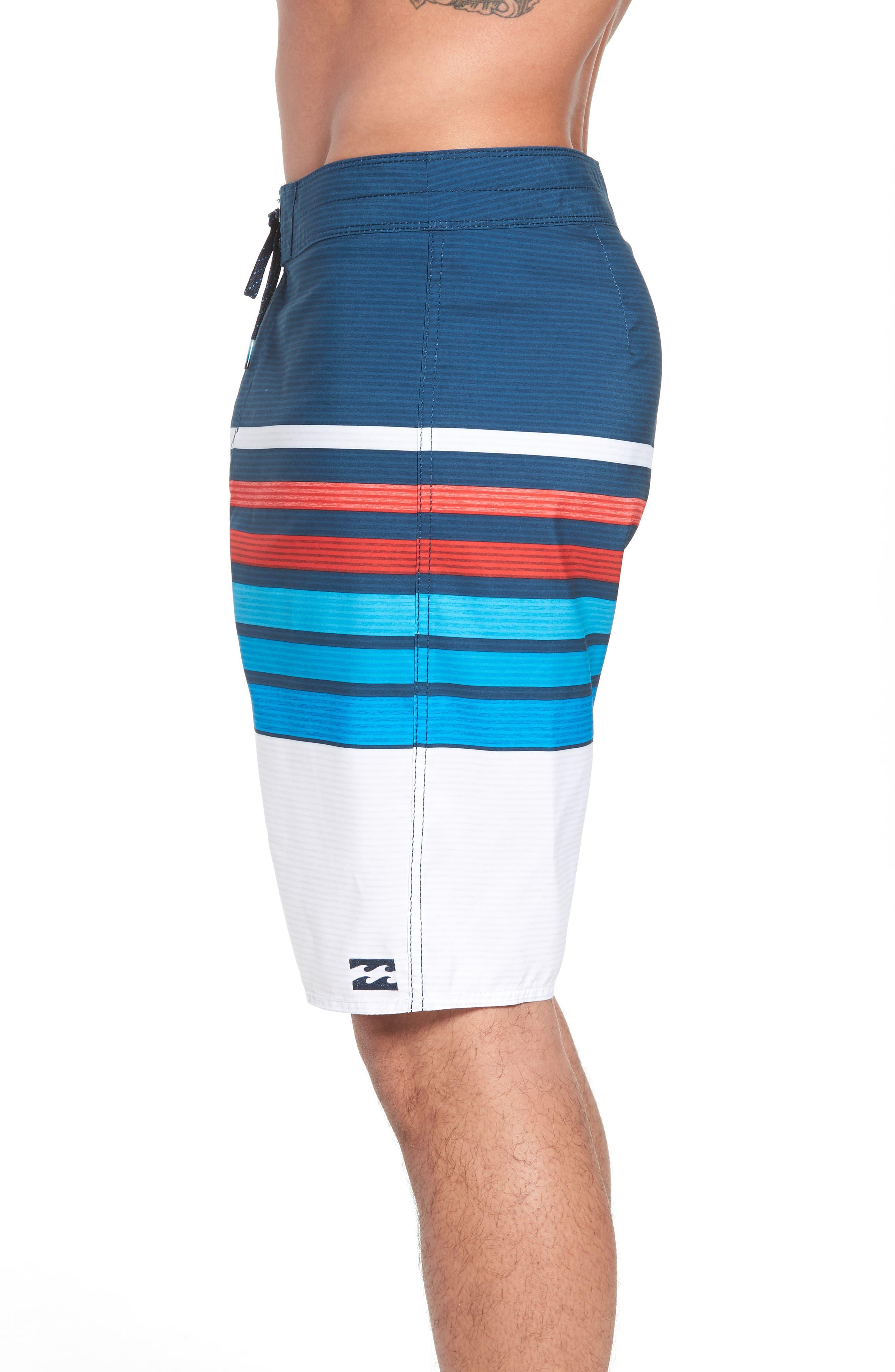 All Day OG Stripe Board Shorts,                             Alternate thumbnail 11, color,