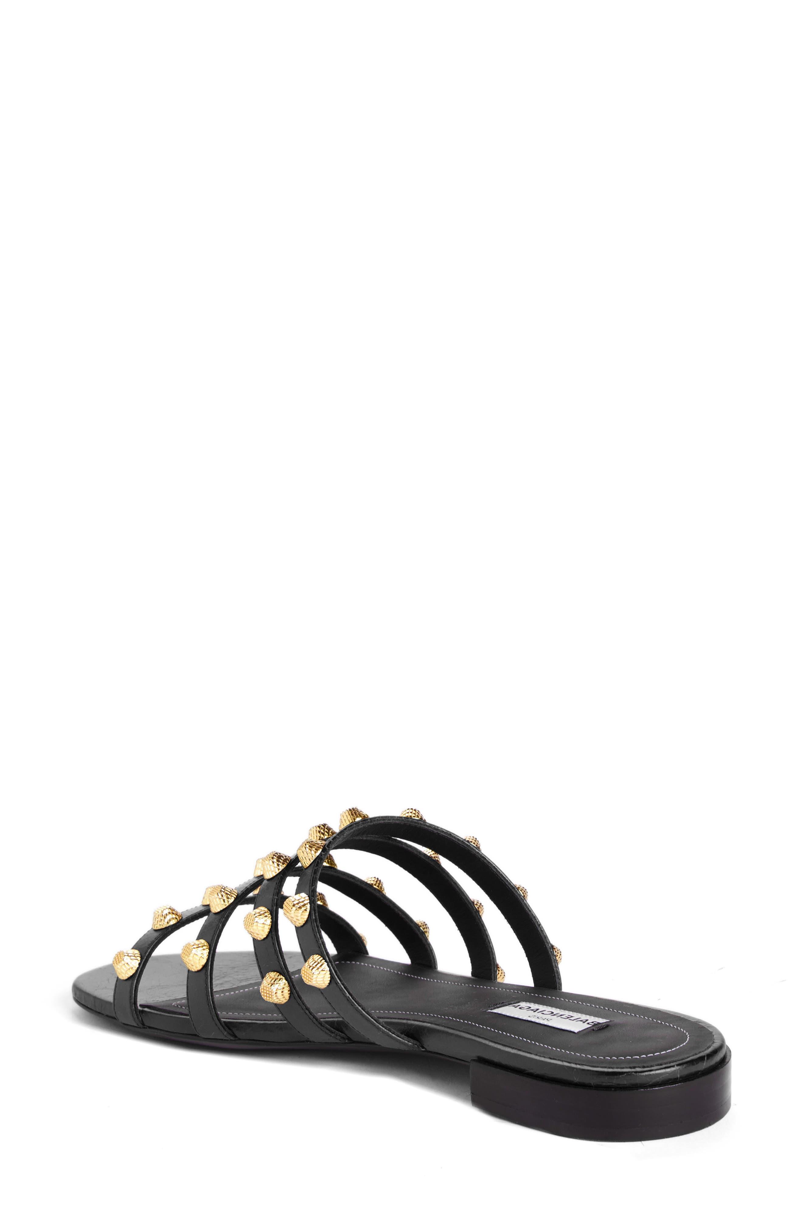 Studded Slide Sandal,                             Alternate thumbnail 2, color,                             001