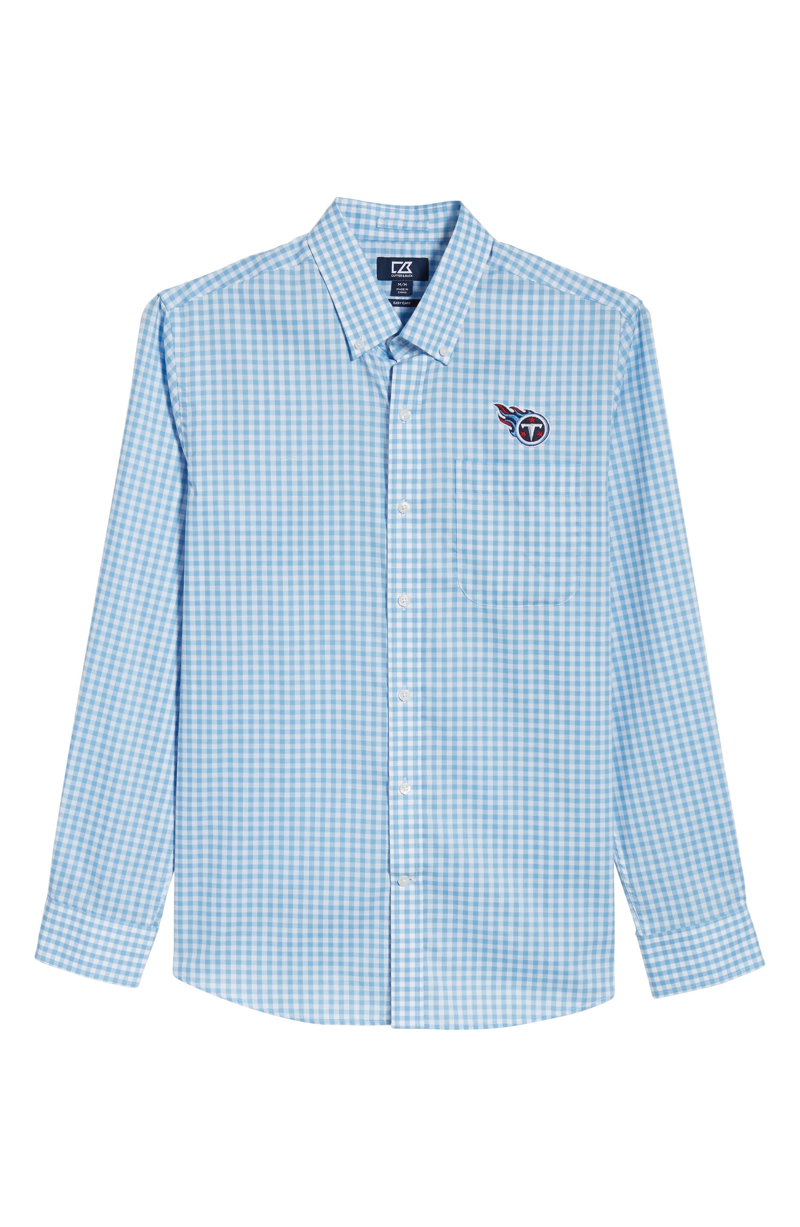 Tennessee Titans - League Regular Fit Sport Shirt,                             Alternate thumbnail 6, color,                             ATLAS