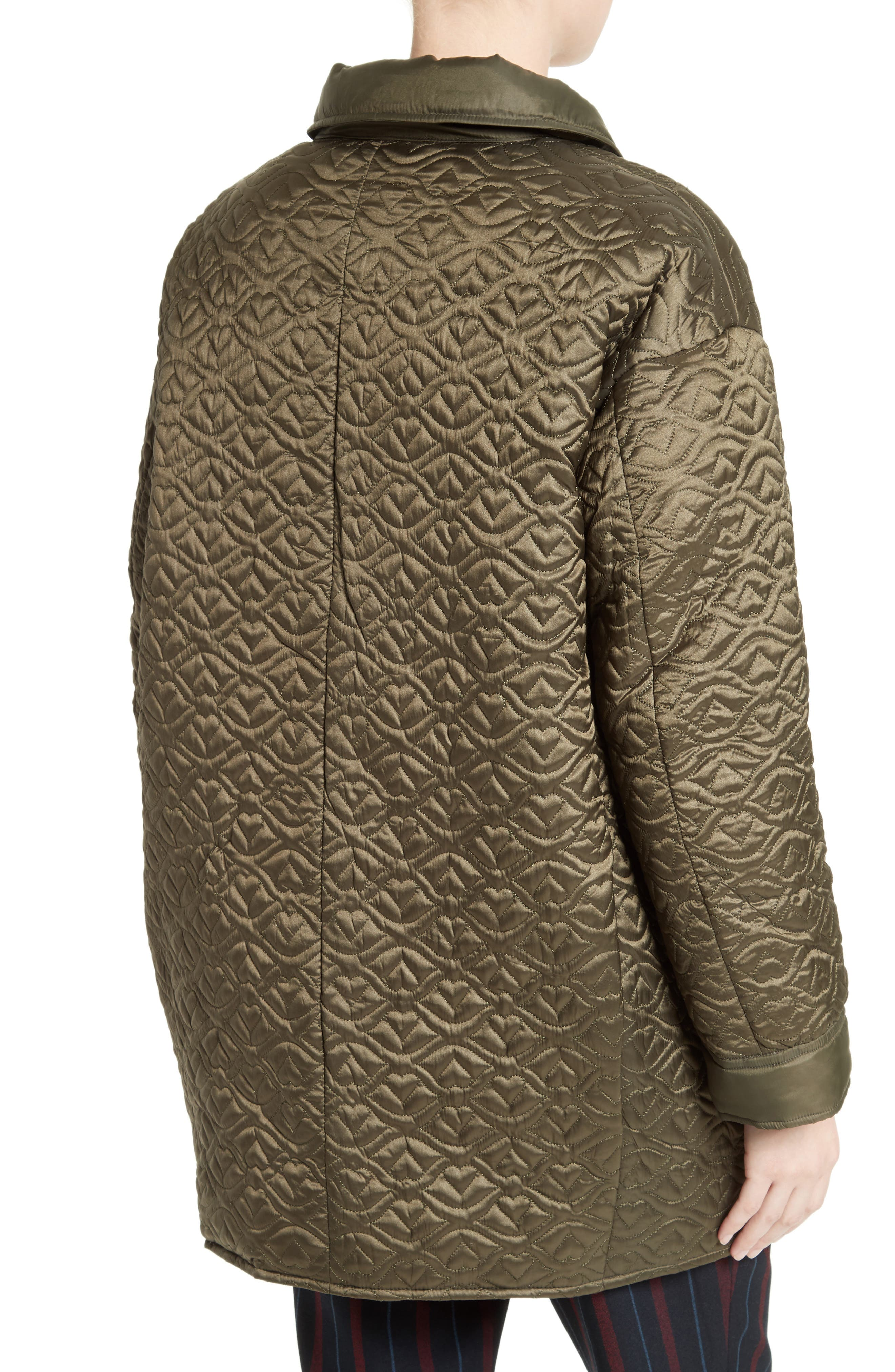 Quilted Coat,                             Alternate thumbnail 2, color,                             310