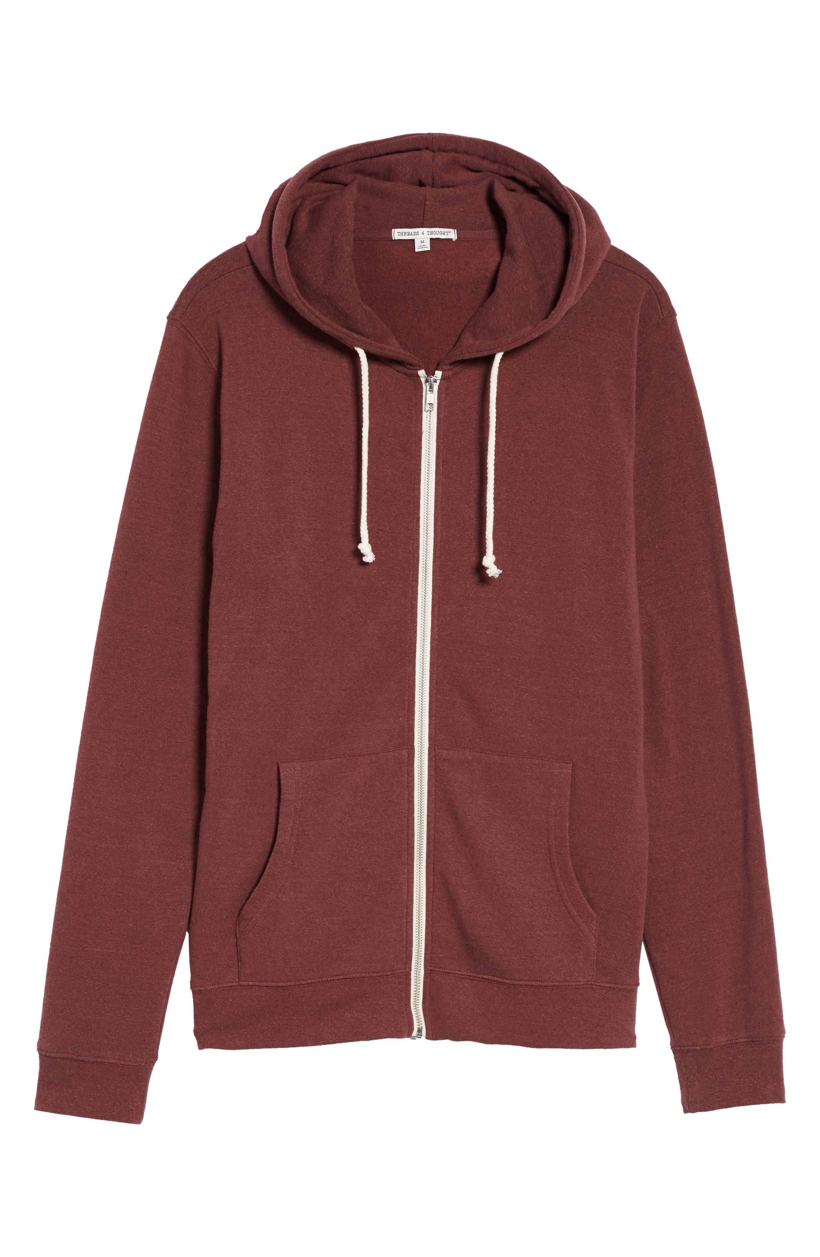 Threads for Thought Trim Fit Heathered Hoodie,                             Alternate thumbnail 63, color,