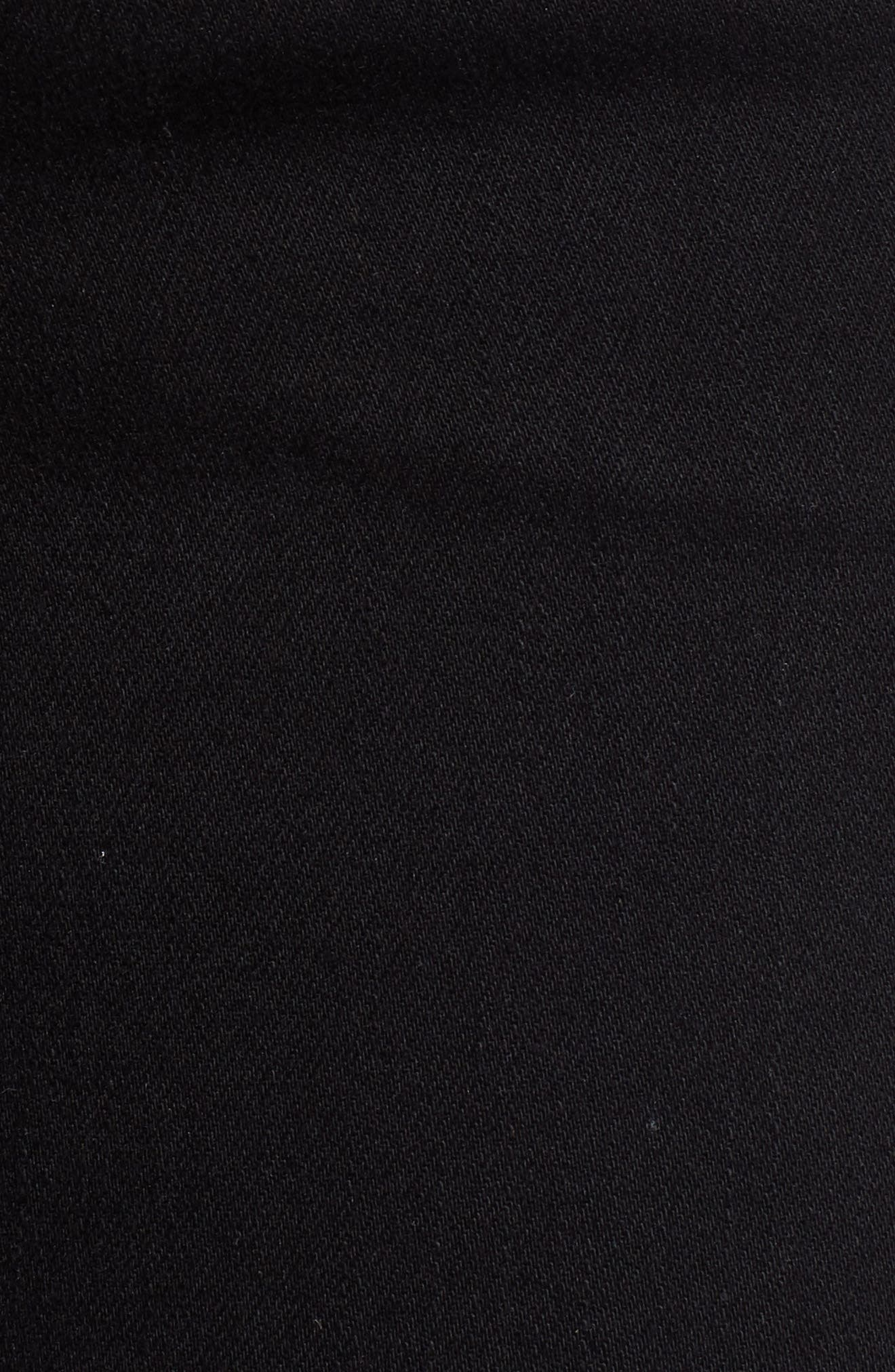 Collin Skinny Jeans,                             Alternate thumbnail 6, color,                             BLACK