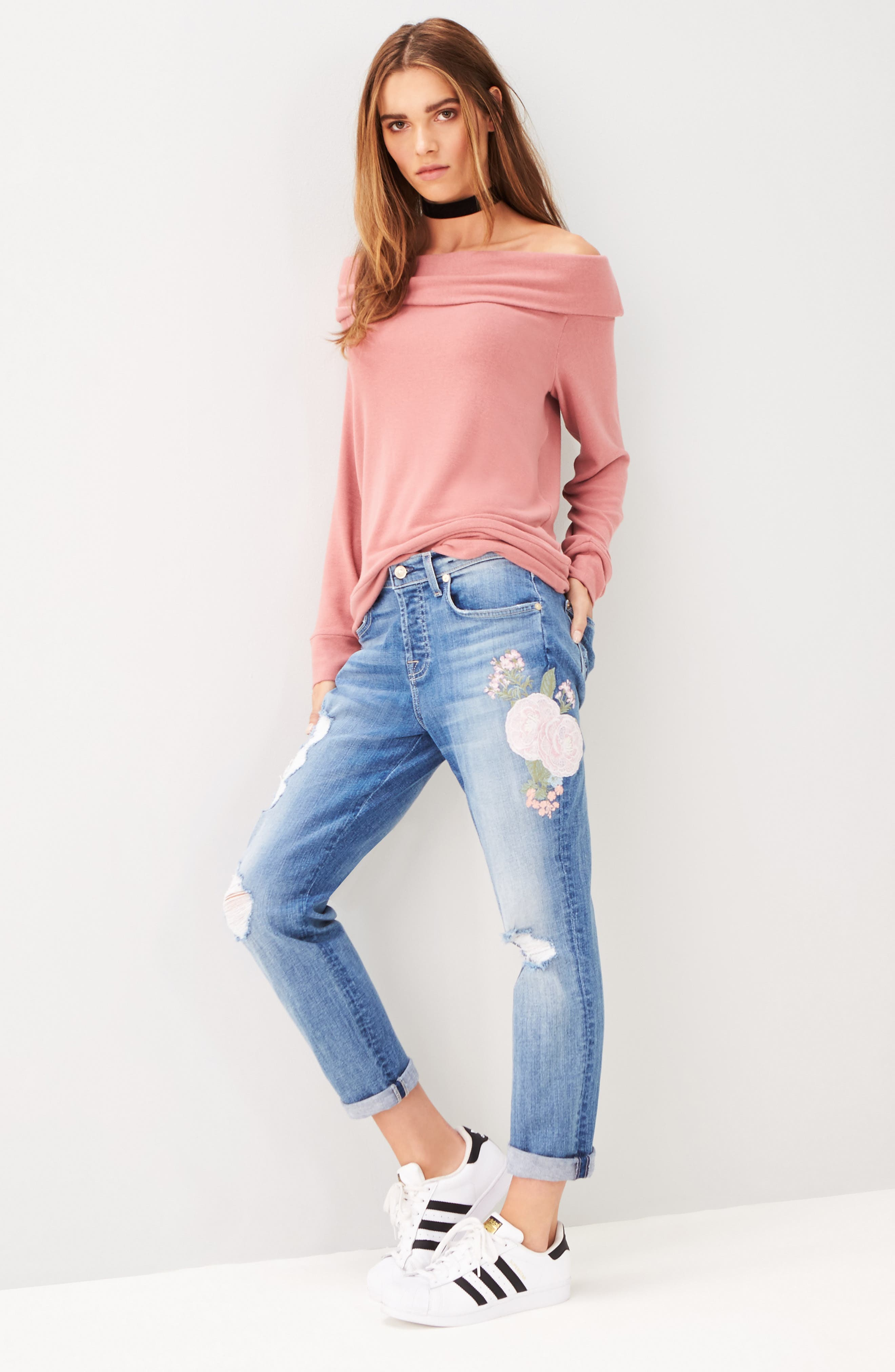 'Brooklyn' Off the Shoulder Top,                             Alternate thumbnail 10, color,