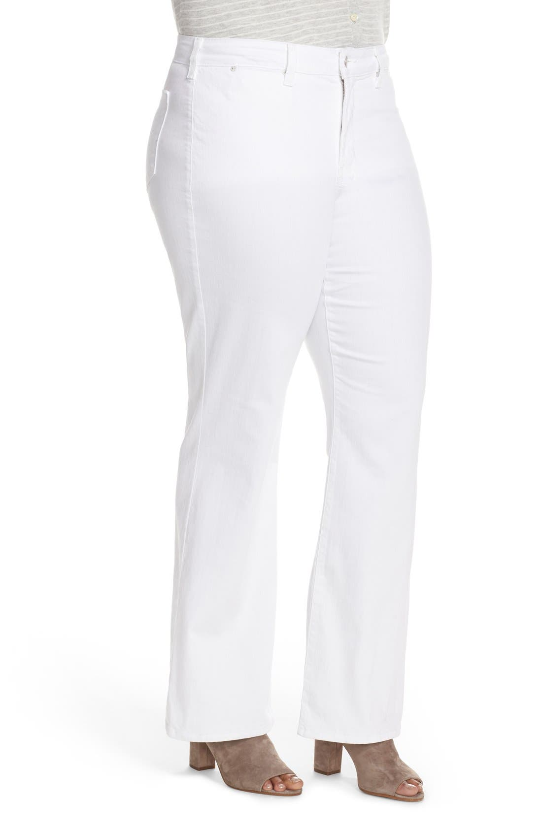 'Isabella' Stretch Trouser Jeans,                             Alternate thumbnail 6, color,