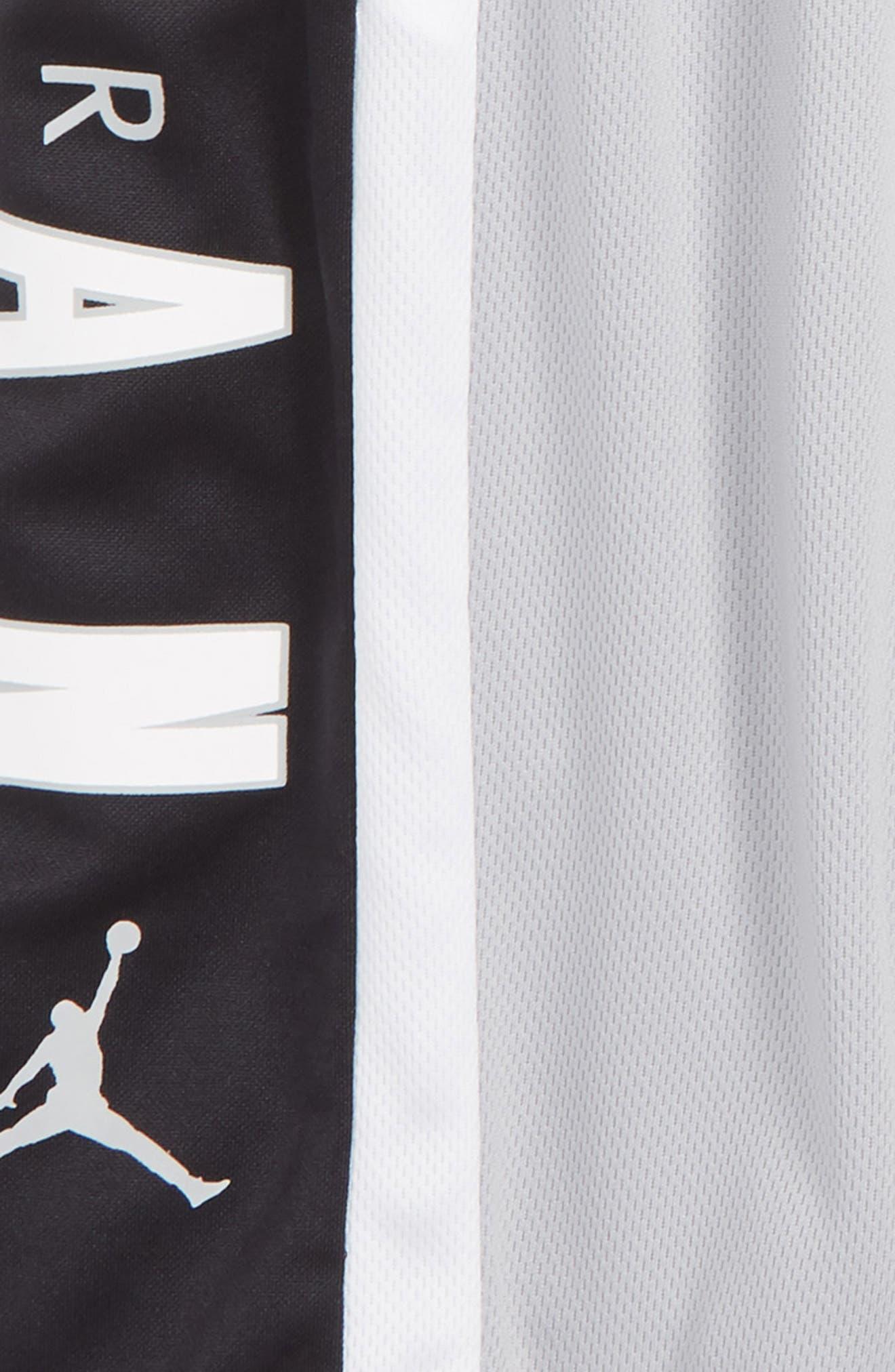 Rise3 Dri-FIT Basketball Shorts,                             Alternate thumbnail 2, color,                             LIGHT SMOKE GREY