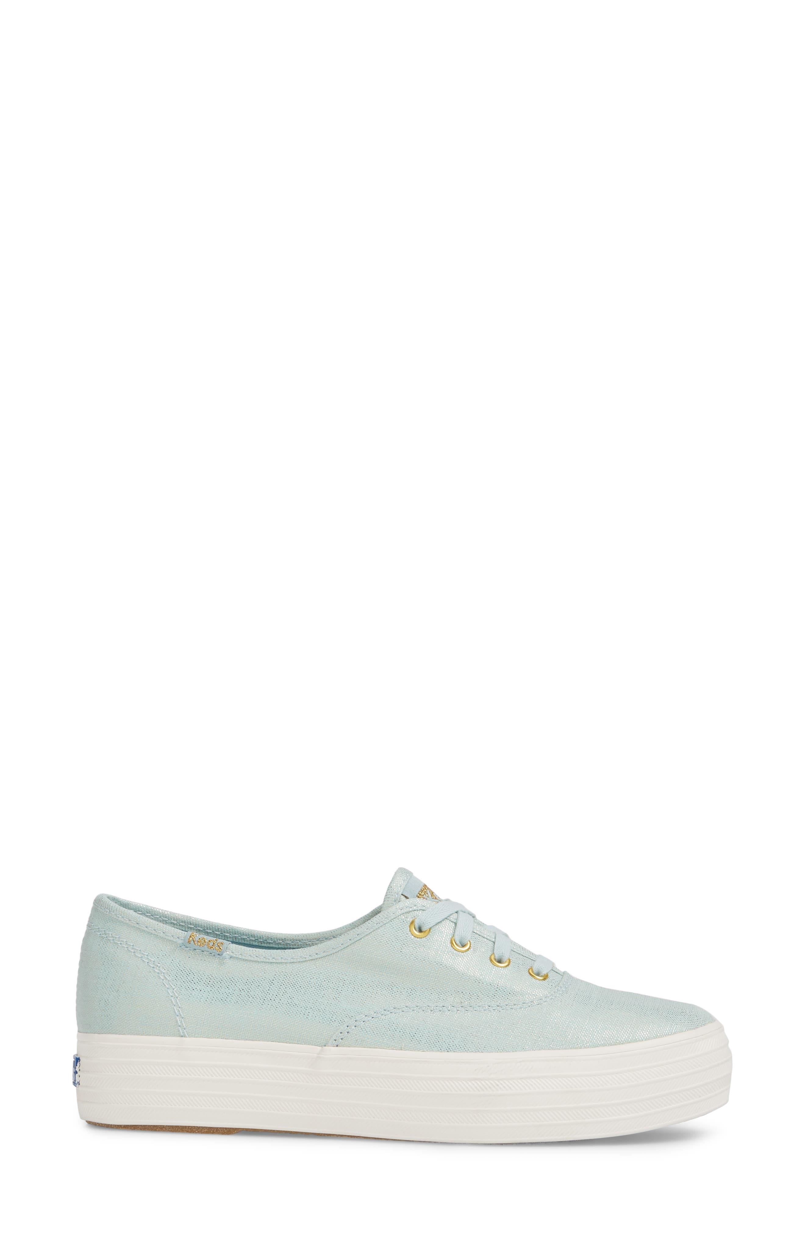 Triple Metallic Sneaker,                             Alternate thumbnail 3, color,                             450