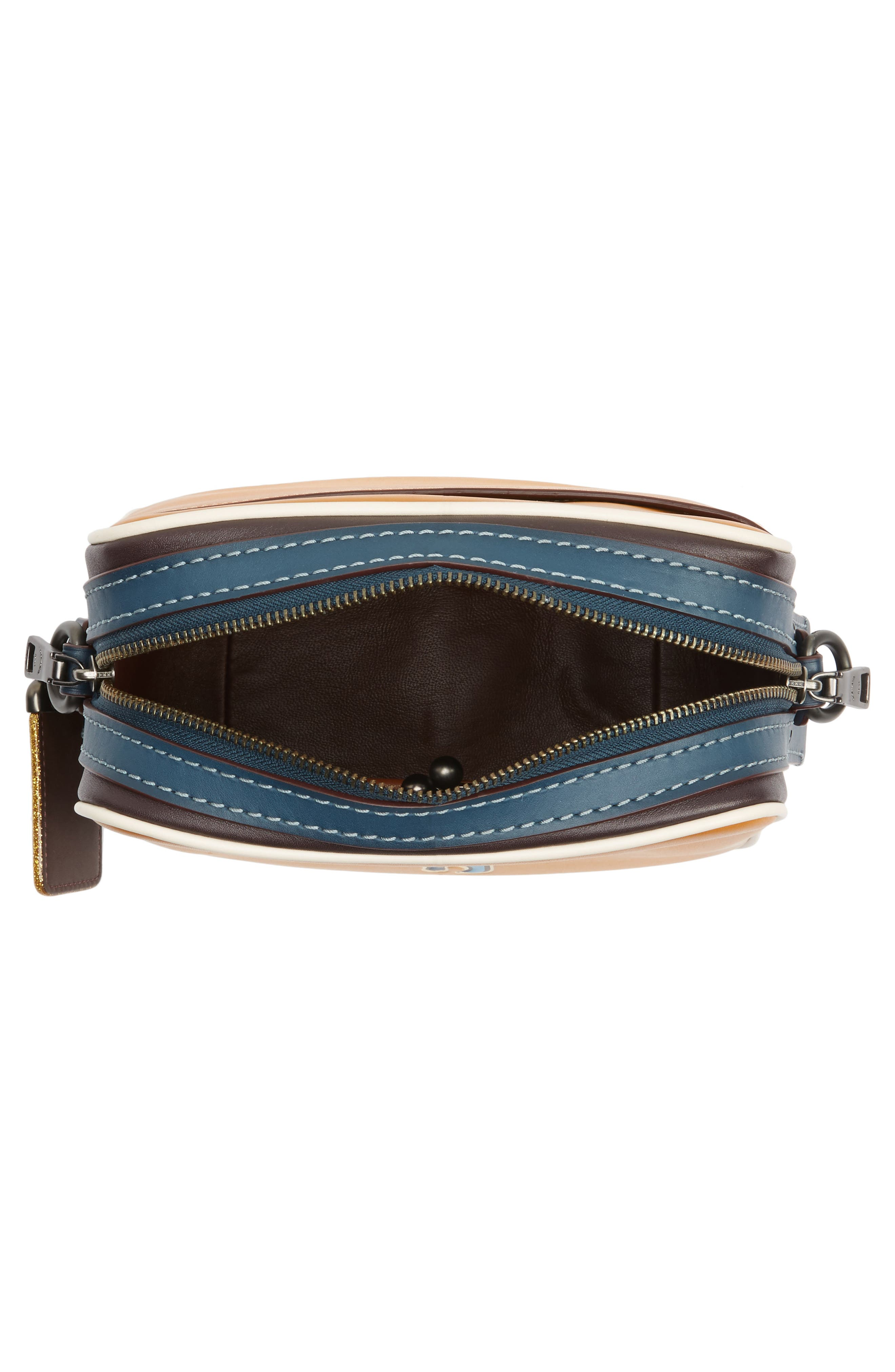 Rexy Leather Crossbody Bag,                             Alternate thumbnail 4, color,                             720