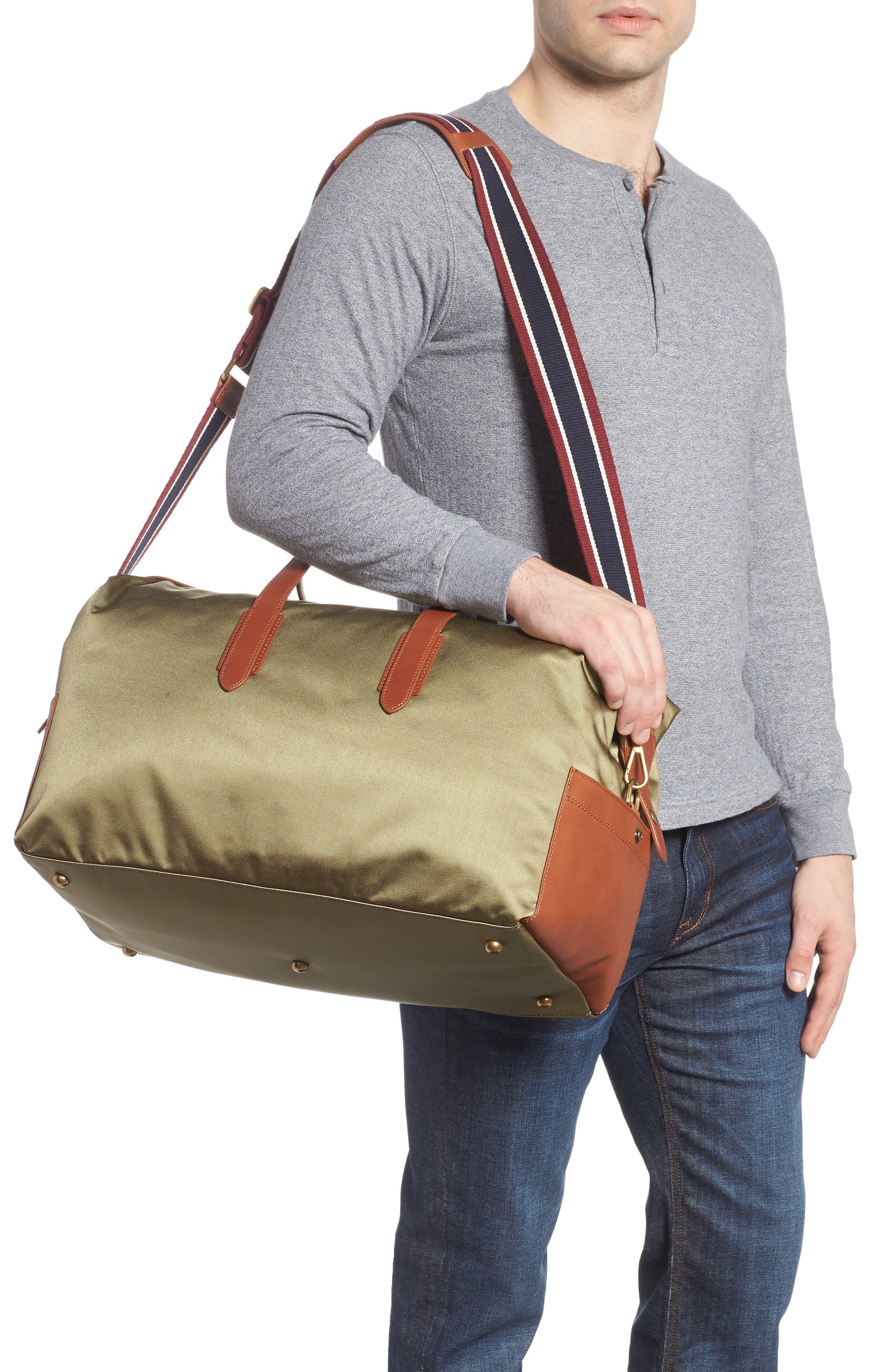 J.CREW,                             Oar Stripe Weekend Bag,                             Alternate thumbnail 2, color,                             300