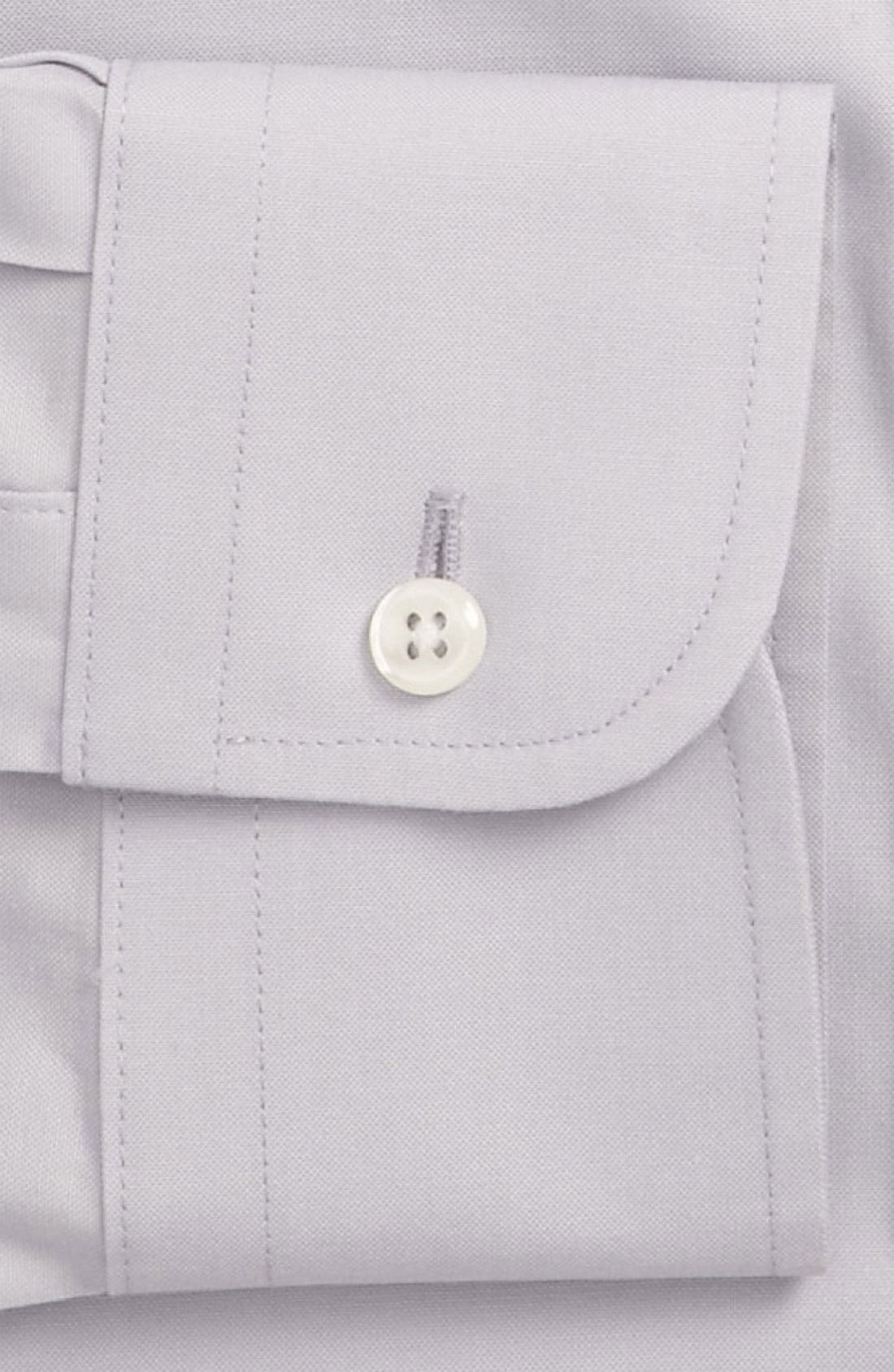 Smartcare<sup>™</sup> Traditional Fit Pinpoint Dress Shirt,                             Alternate thumbnail 49, color,