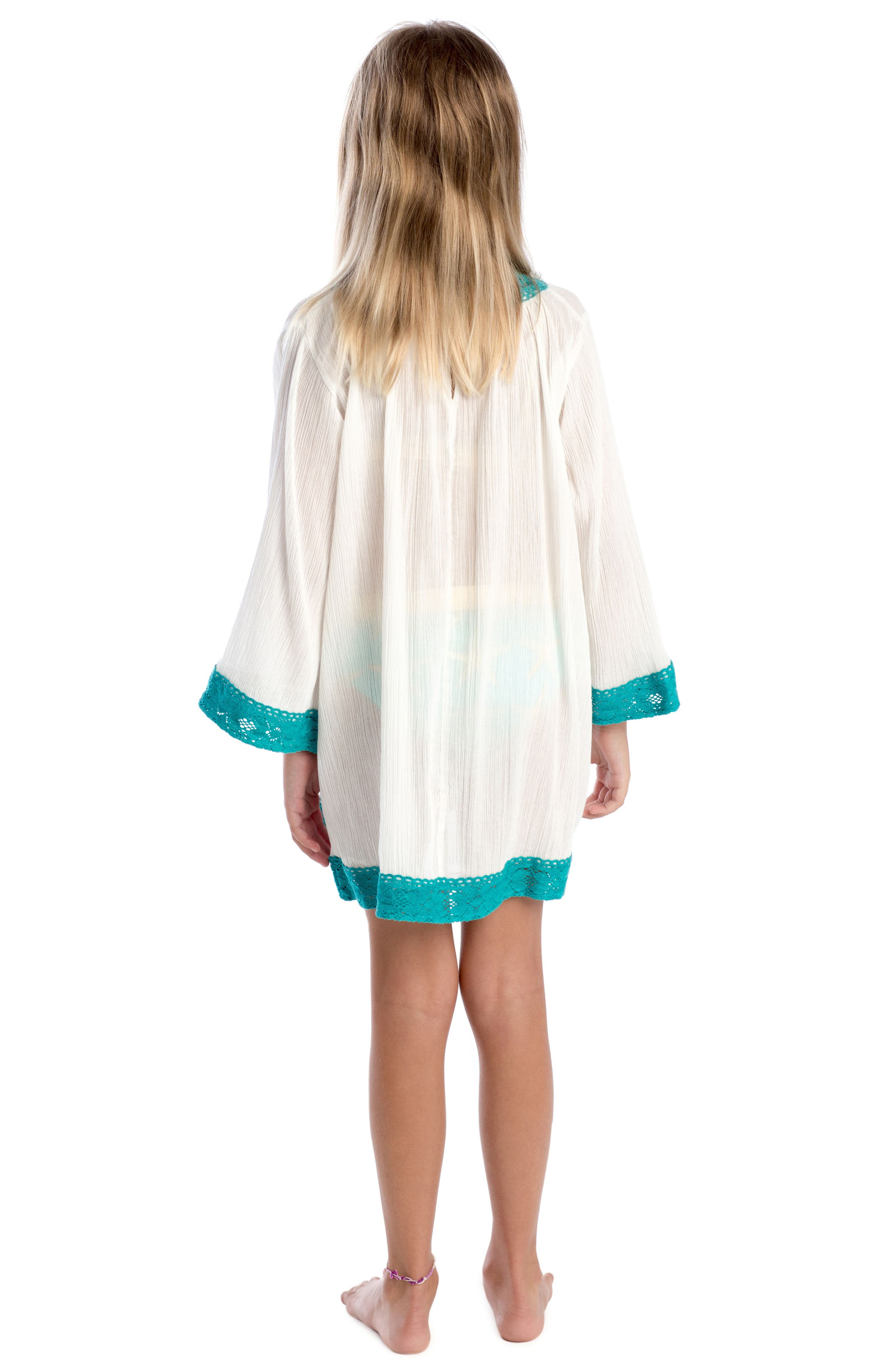 Sweet Escape Cover-Up Tunic,                             Alternate thumbnail 3, color,                             100