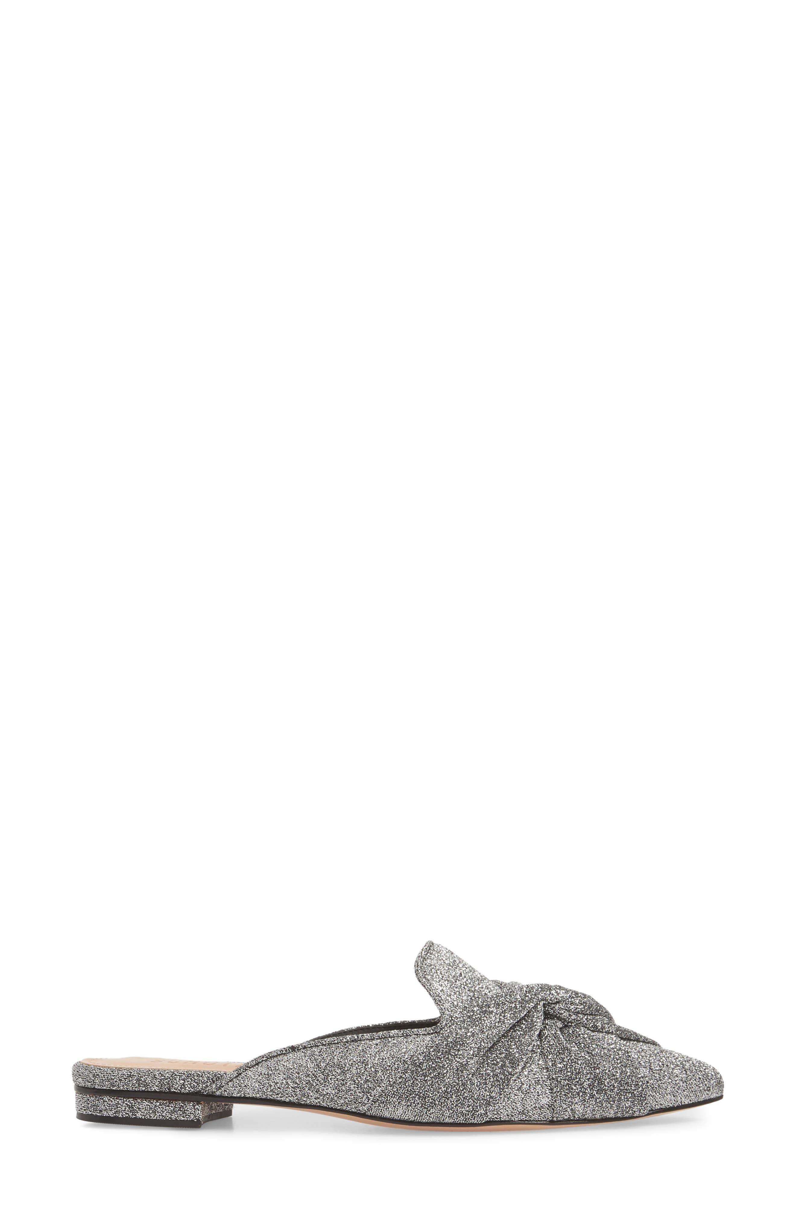 Tina Pointy Toe Slide Sandal,                             Alternate thumbnail 3, color,                             040