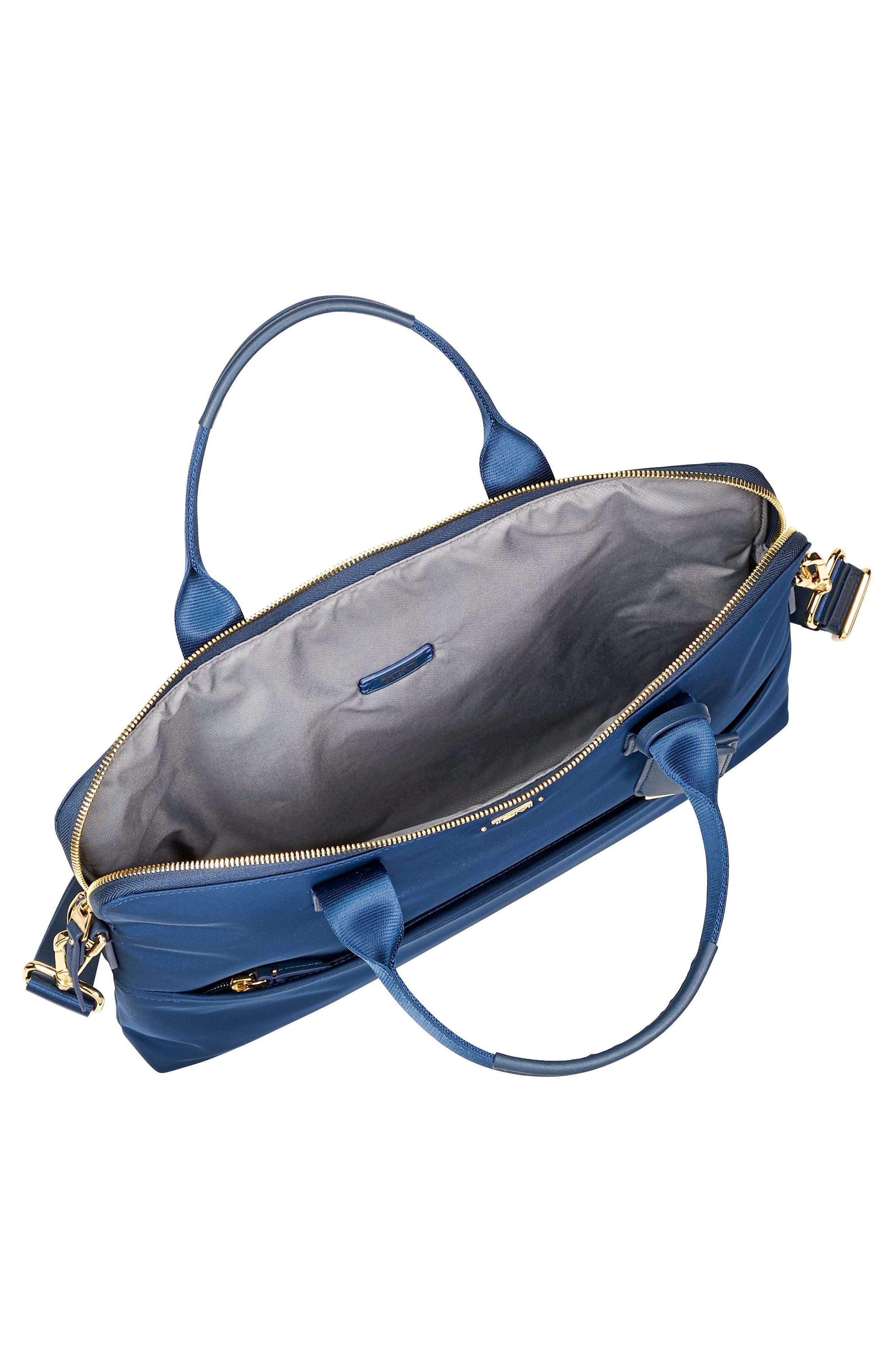 Voyageur Tina Nylon Laptop Briefcase,                             Alternate thumbnail 5, color,                             400