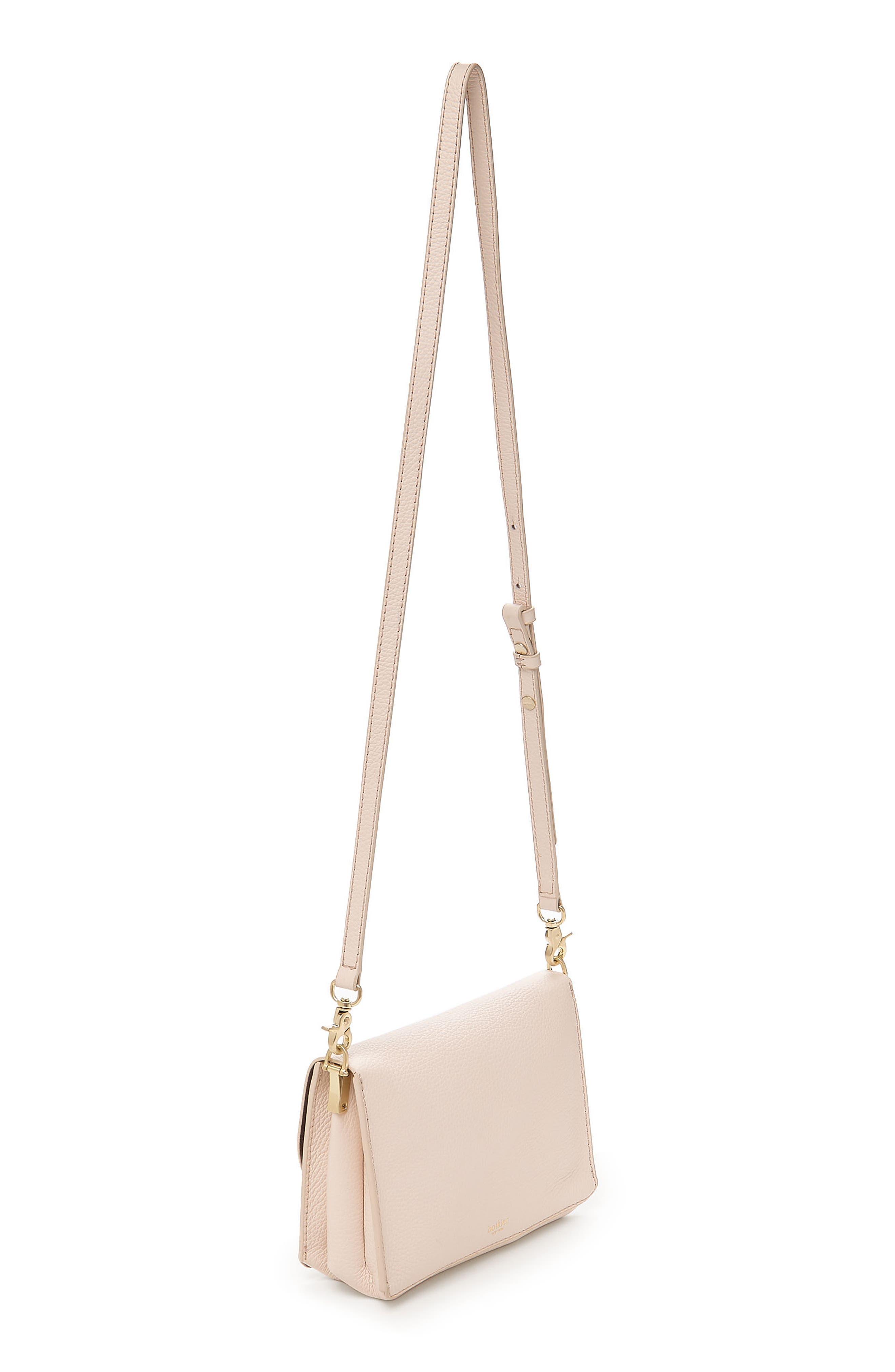 Waverly Leather Crossbody Bag,                             Alternate thumbnail 17, color,