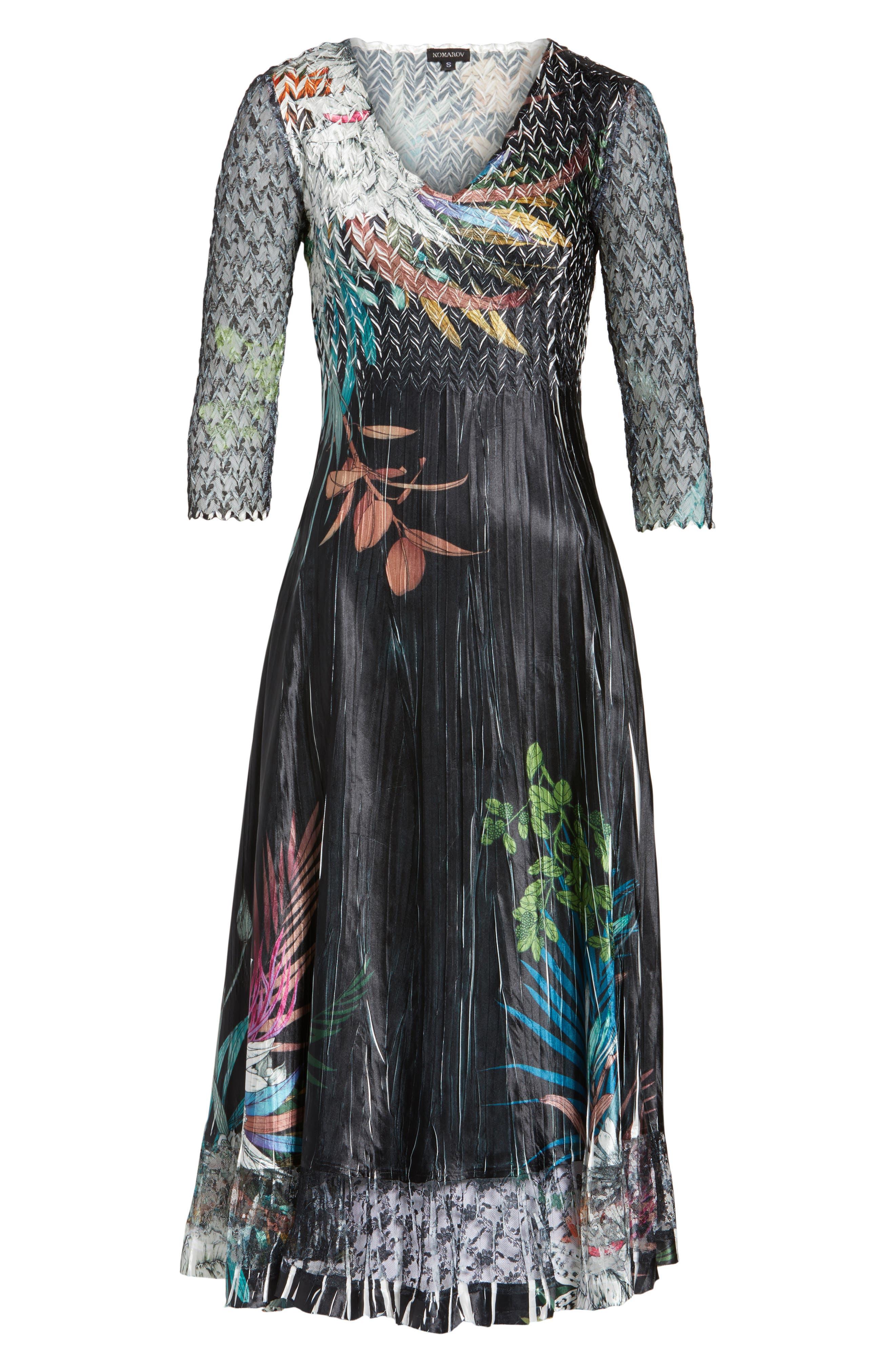 Print Sash Maxi Dress,                             Alternate thumbnail 7, color,                             039
