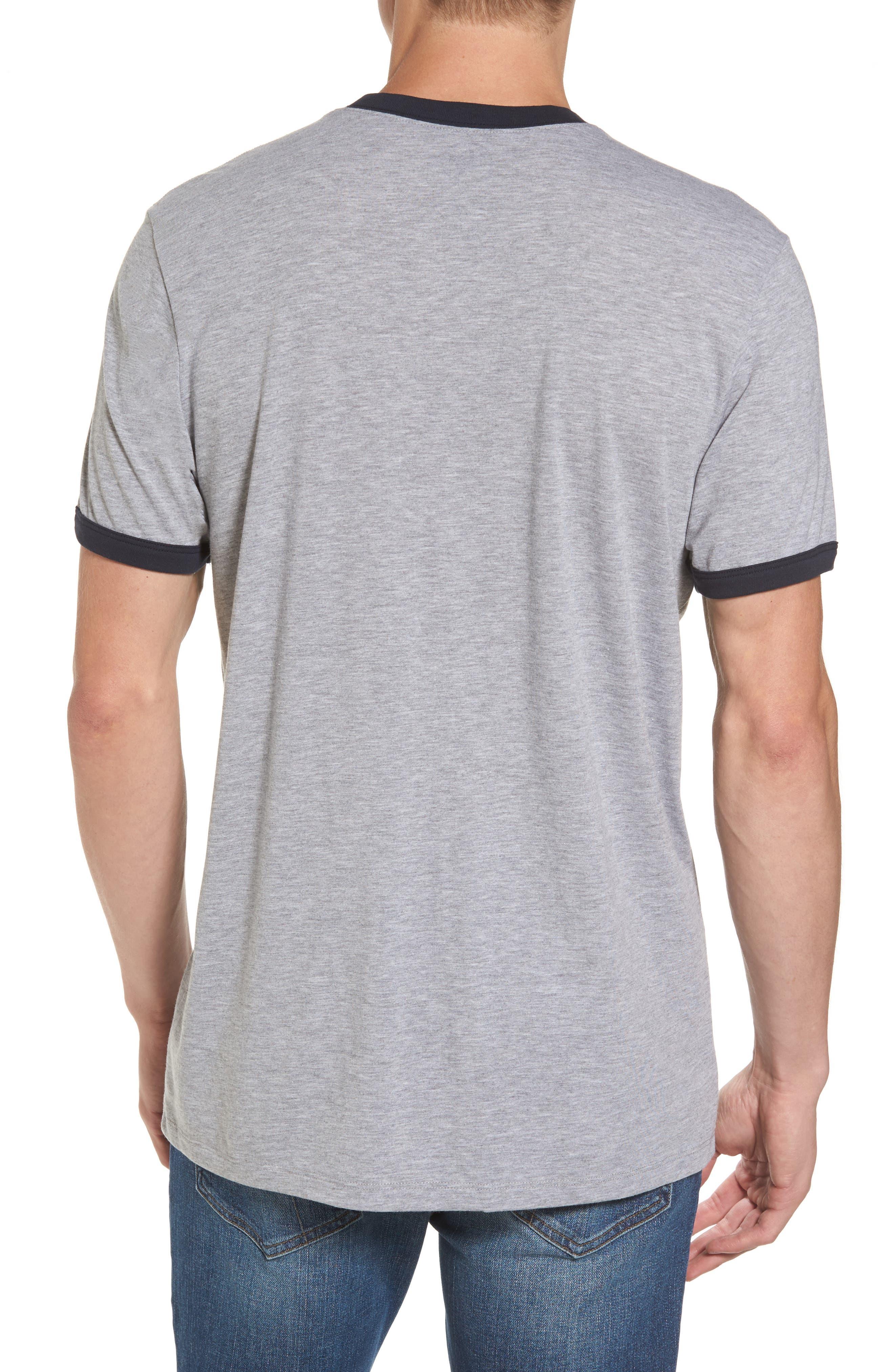 Los Angeles Rams Ringer T-Shirt,                             Alternate thumbnail 2, color,                             020