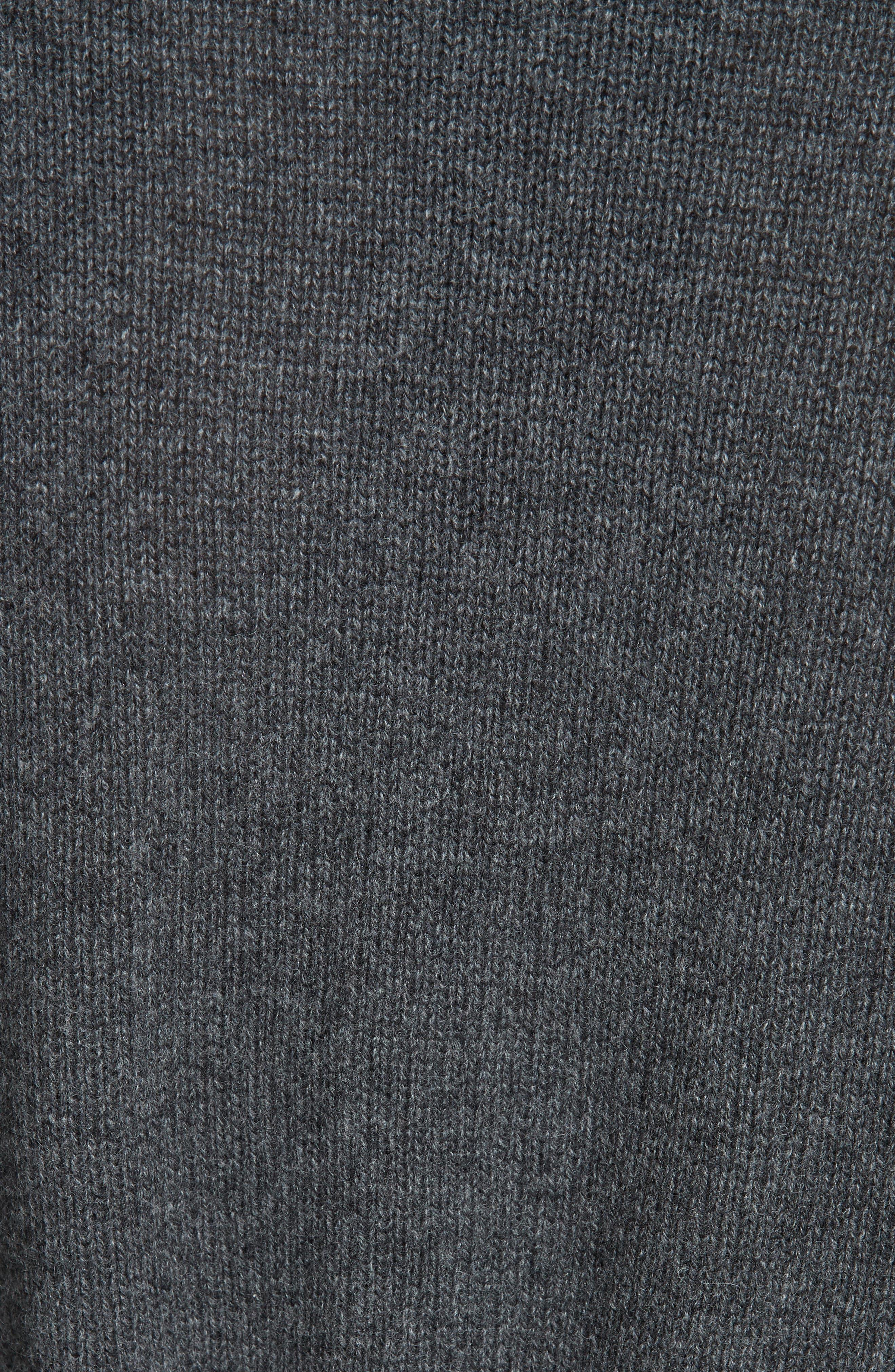 Malinka O Cashmere Tie Waist Cardigan,                             Alternate thumbnail 5, color,                             020