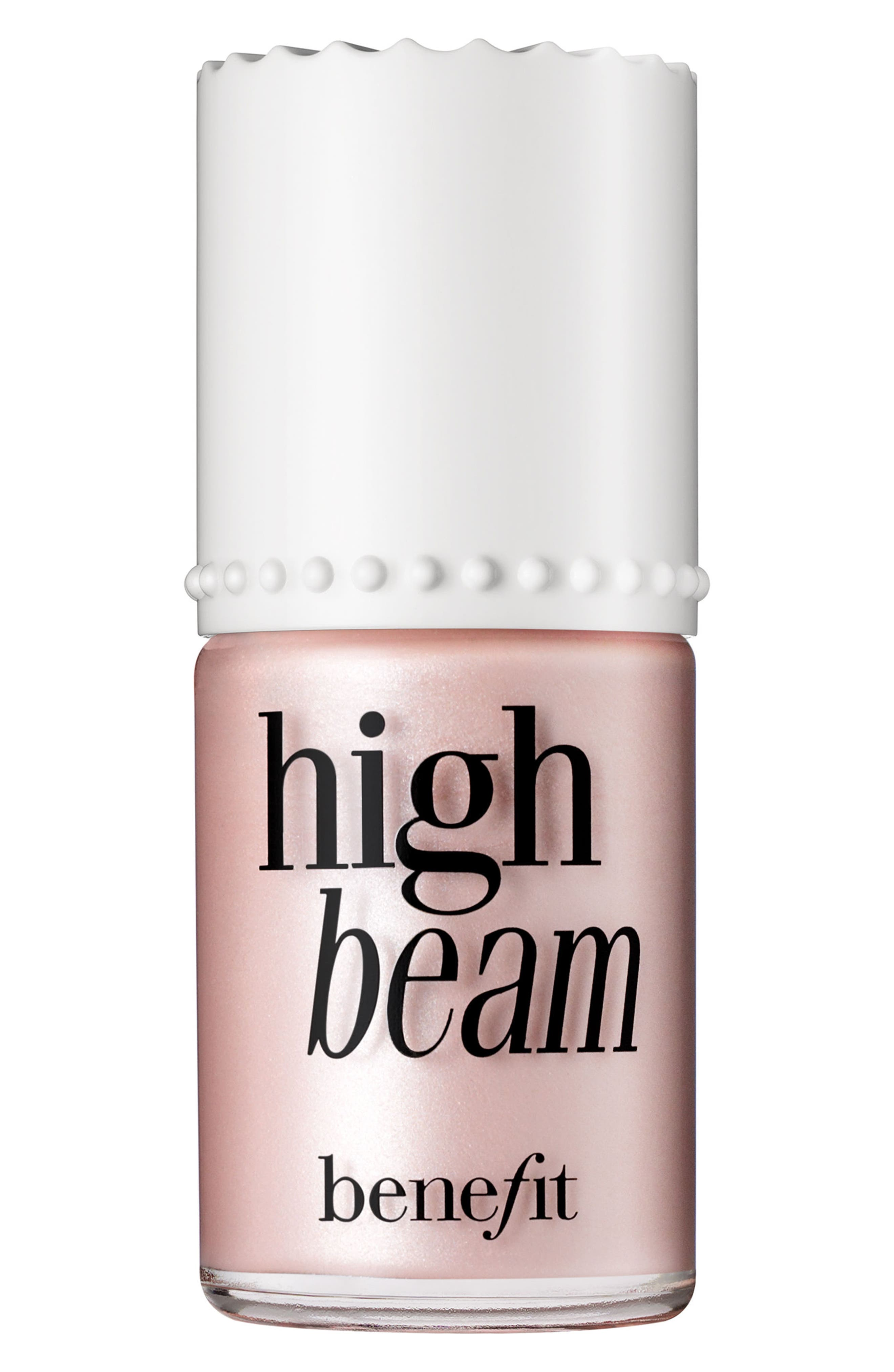 Benefit High Beam Satiny Pink Liquid Highlighter,                             Alternate thumbnail 2, color,                             PINK