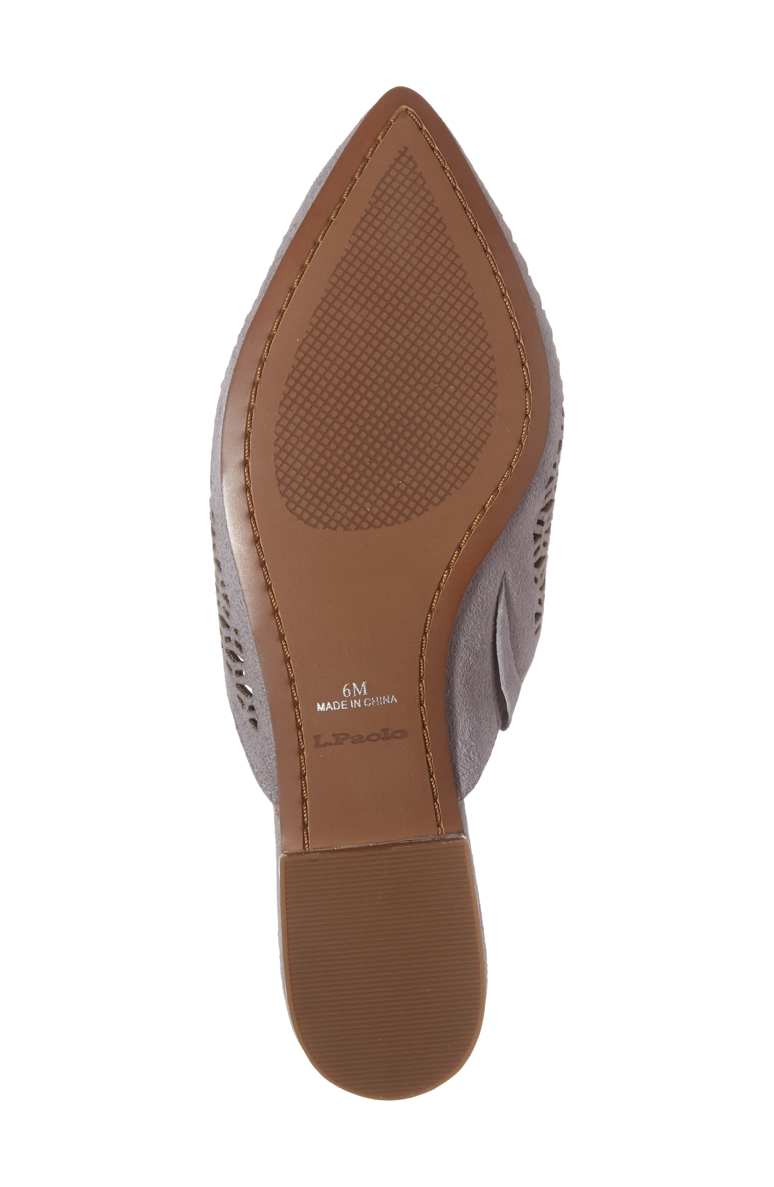 Daisy Perforated Mule,                             Alternate thumbnail 14, color,