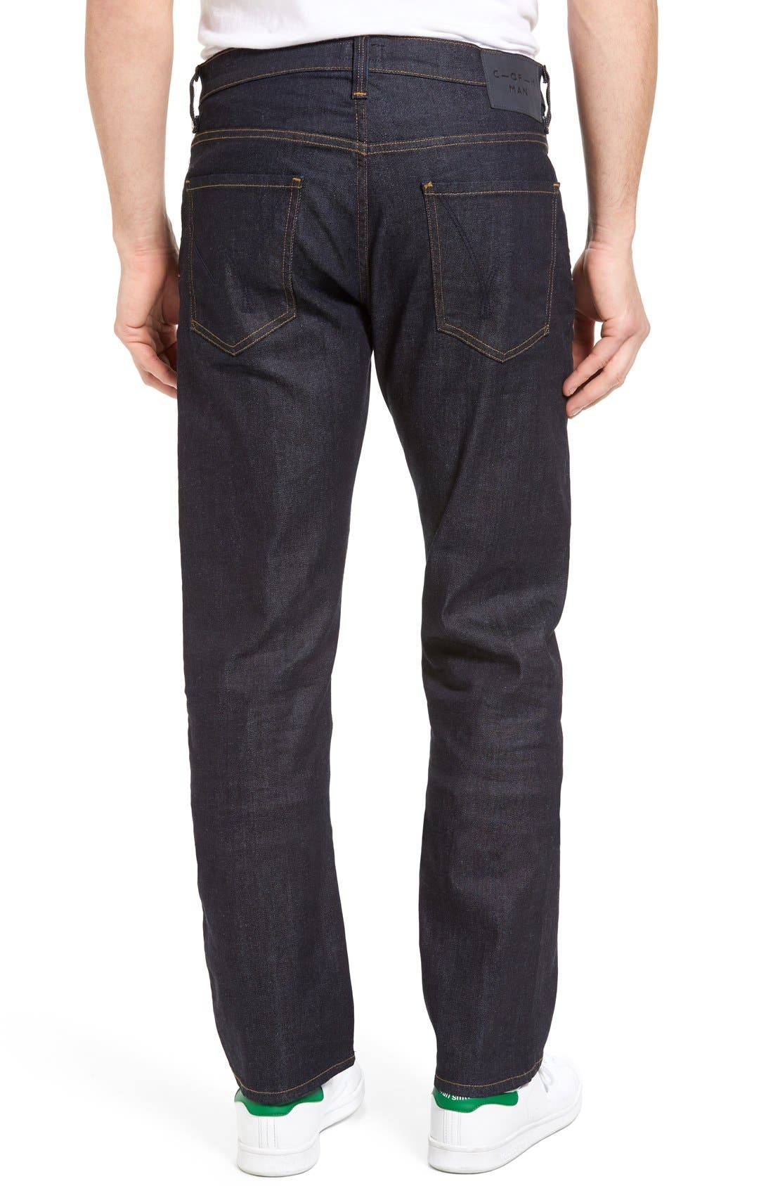Sid Classic Straight Leg Jeans,                             Alternate thumbnail 7, color,                             LAFAYETTE
