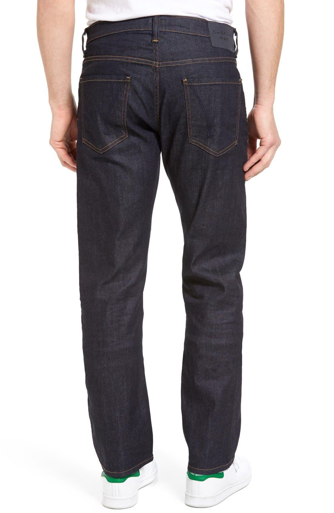 Sid Classic Straight Leg Jeans,                             Alternate thumbnail 8, color,                             LAFAYETTE
