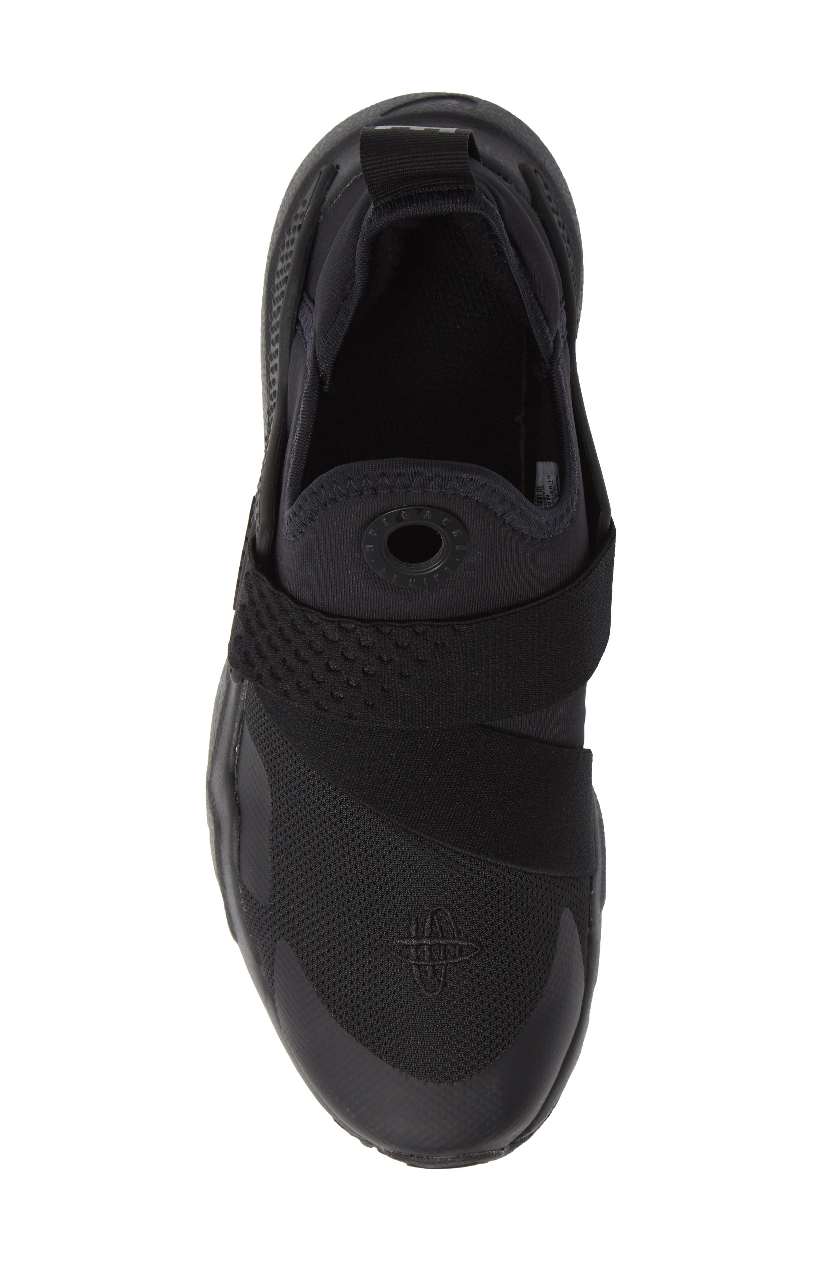 Huarache Extreme Sneaker,                             Alternate thumbnail 5, color,                             BLACK