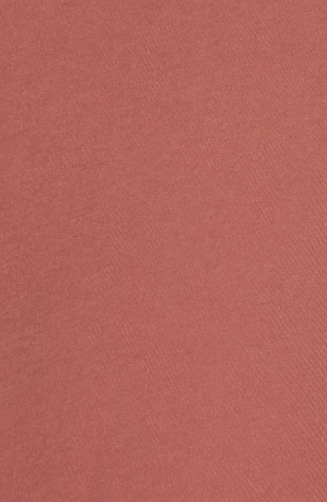 Jones Cover-Up Dress,                             Alternate thumbnail 5, color,                             VINTAGE BERRY