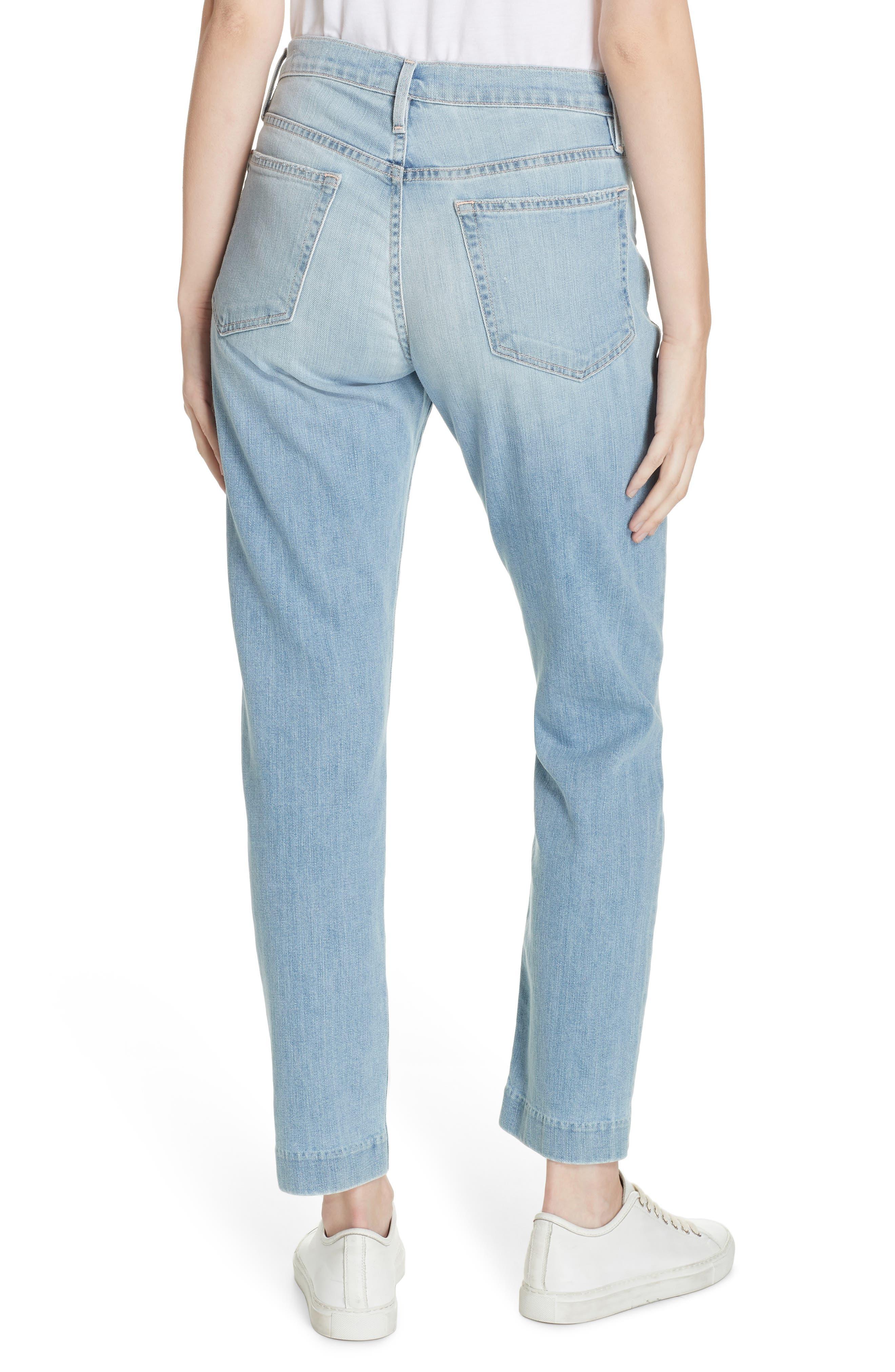 Le Boy High Waist Jeans,                             Alternate thumbnail 2, color,                             KEATON