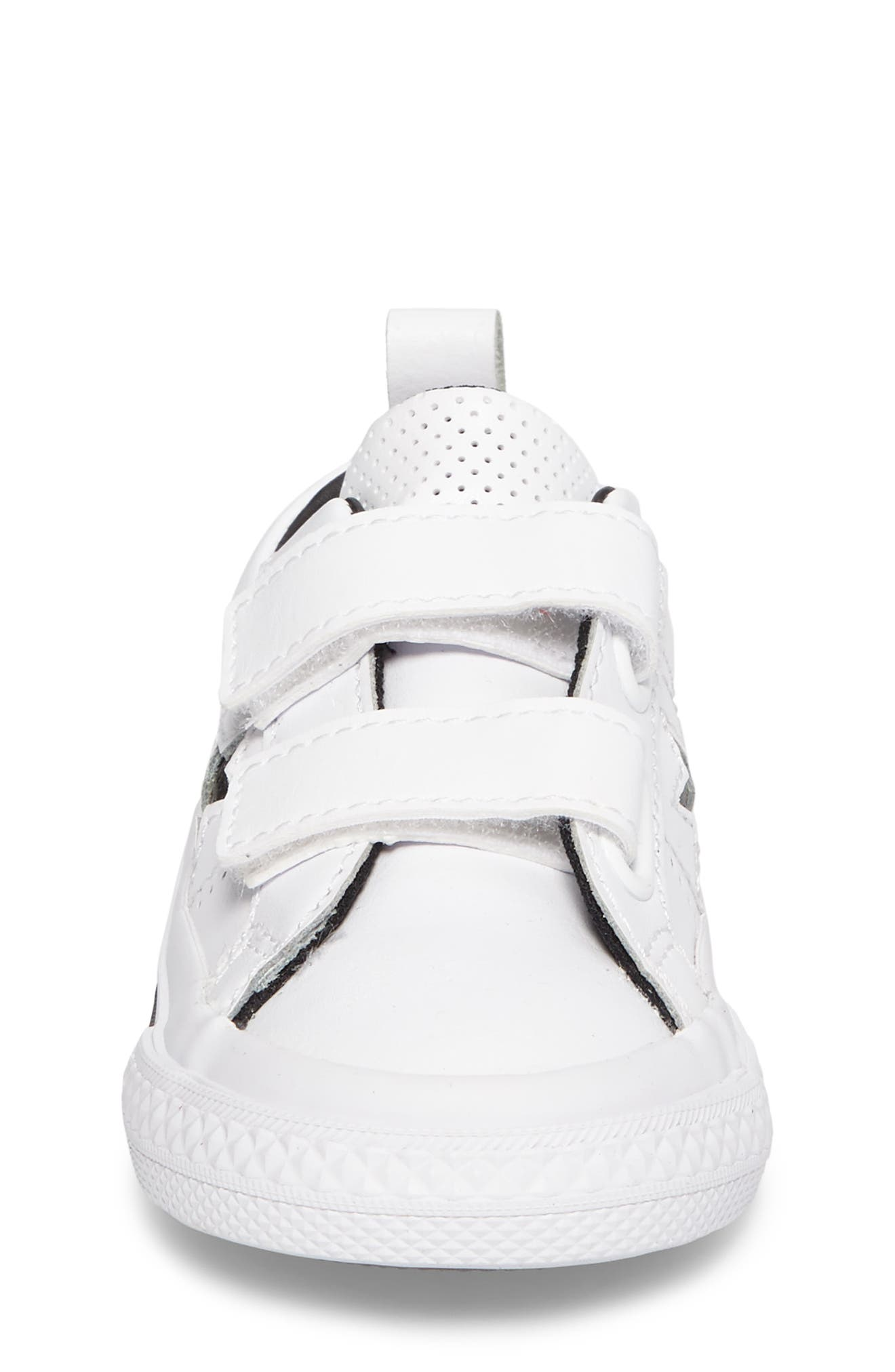 Chuck Taylor<sup>®</sup> All Star<sup>®</sup> One Star Sneaker,                             Alternate thumbnail 4, color,                             100