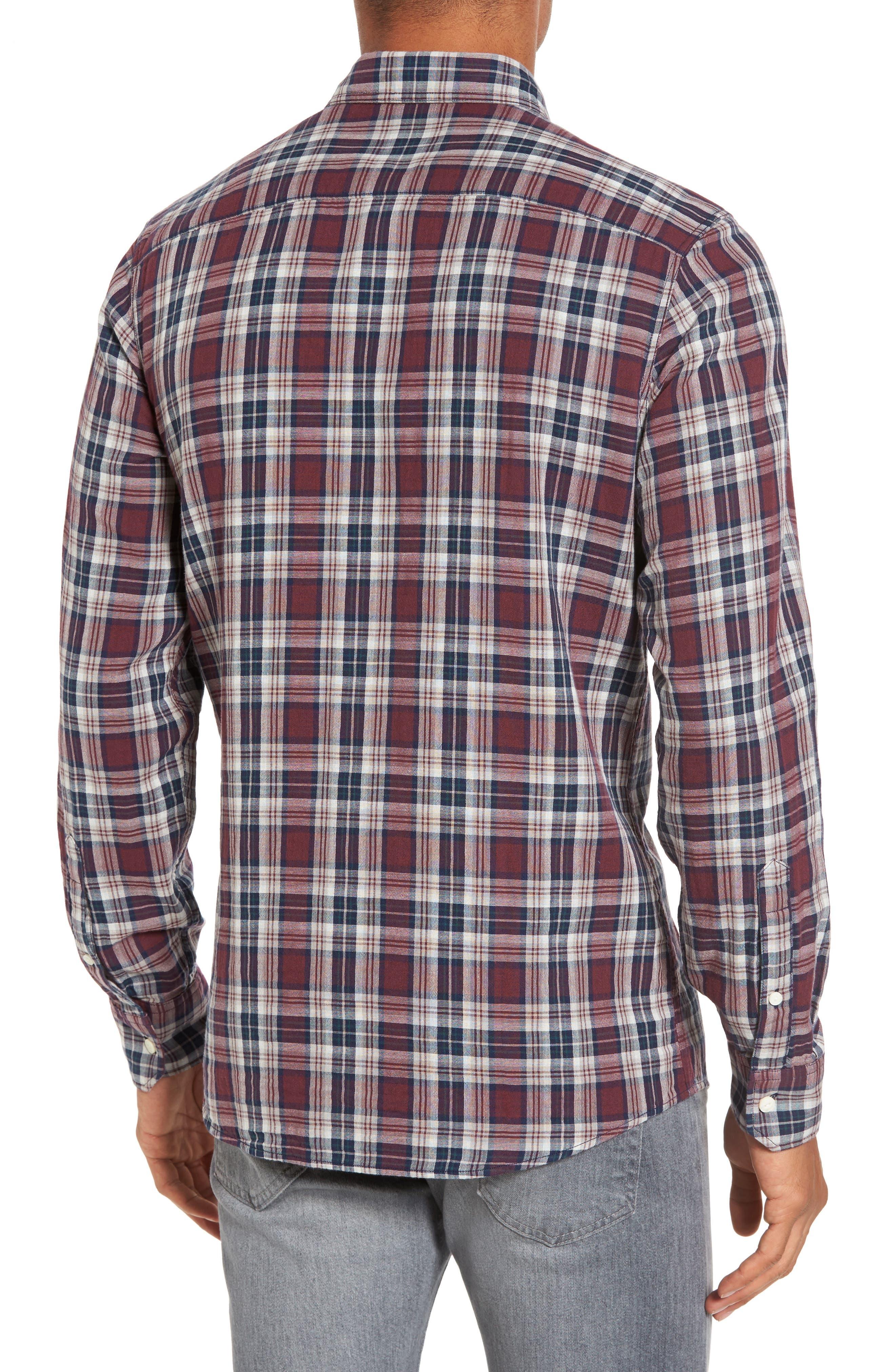 Lumber Duofold Slim Fit Plaid Shirt,                             Alternate thumbnail 2, color,                             938