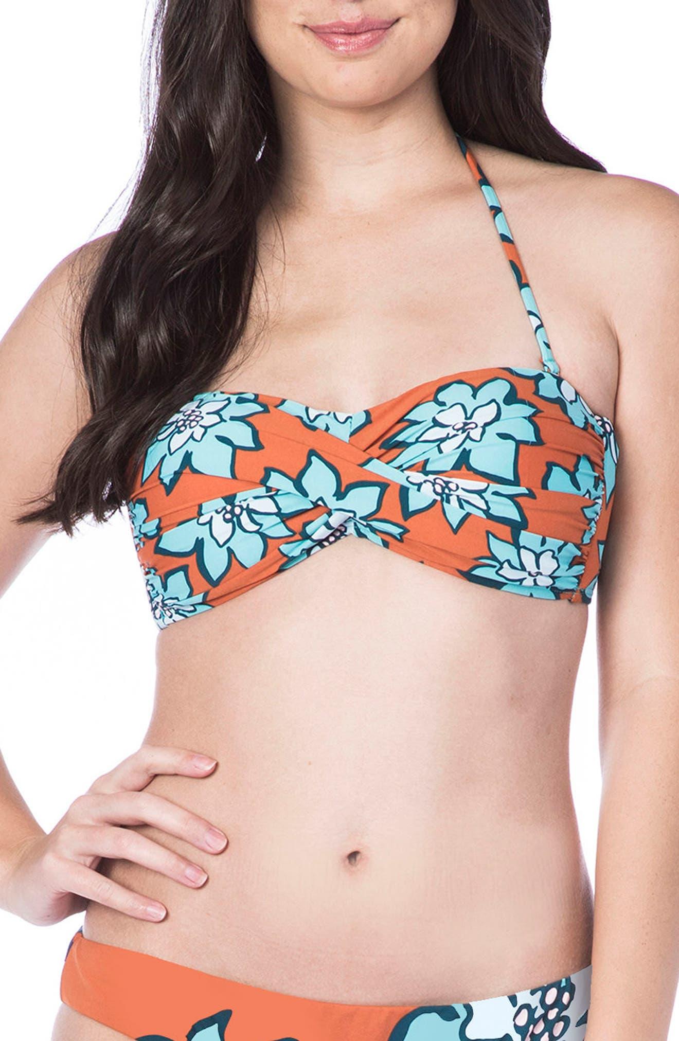 Desert Bandeau Bikini Top,                         Main,                         color, 209