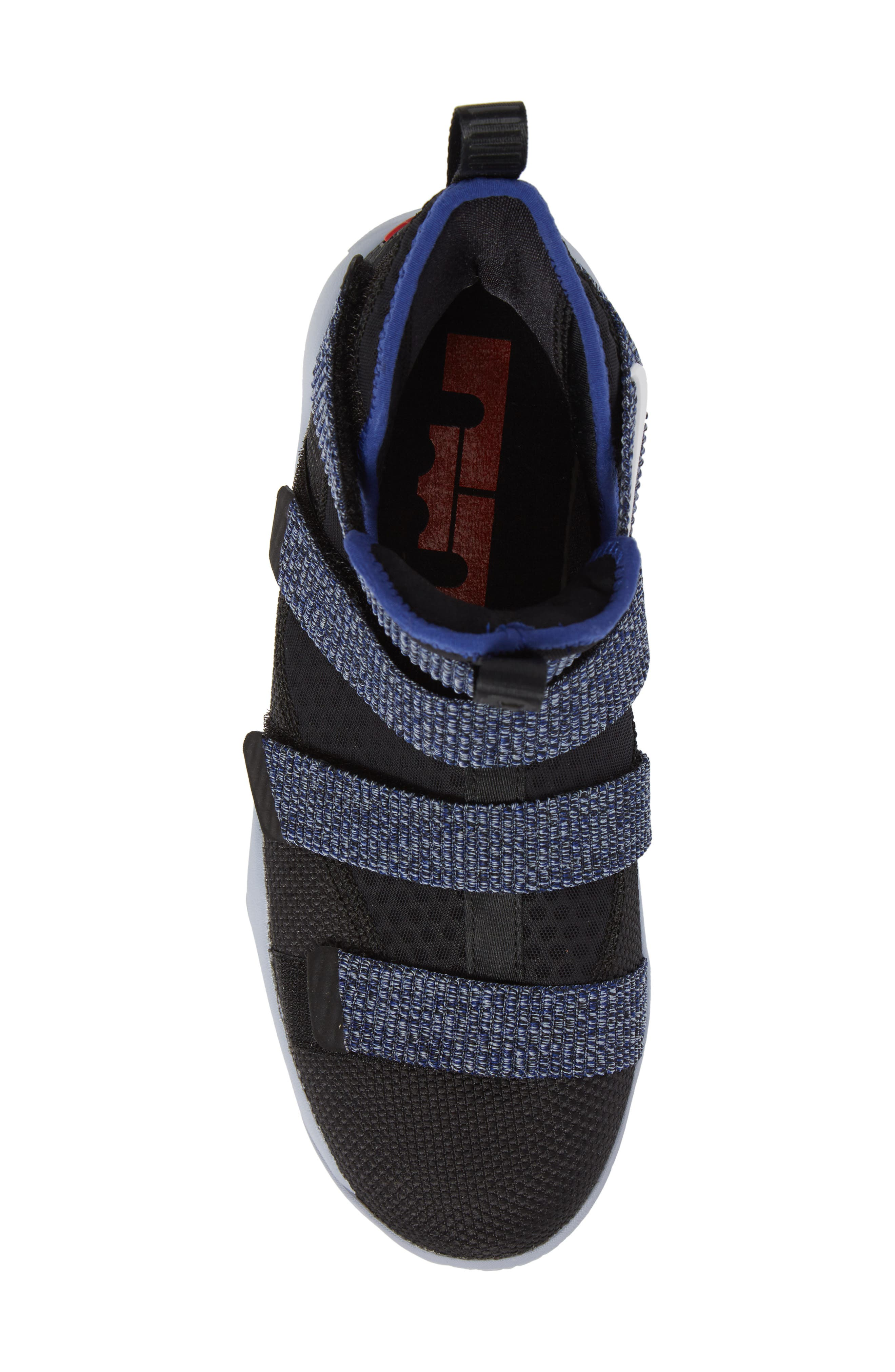 NIKE,                             LeBron Soldier XI Basketball Shoe,                             Alternate thumbnail 5, color,                             005