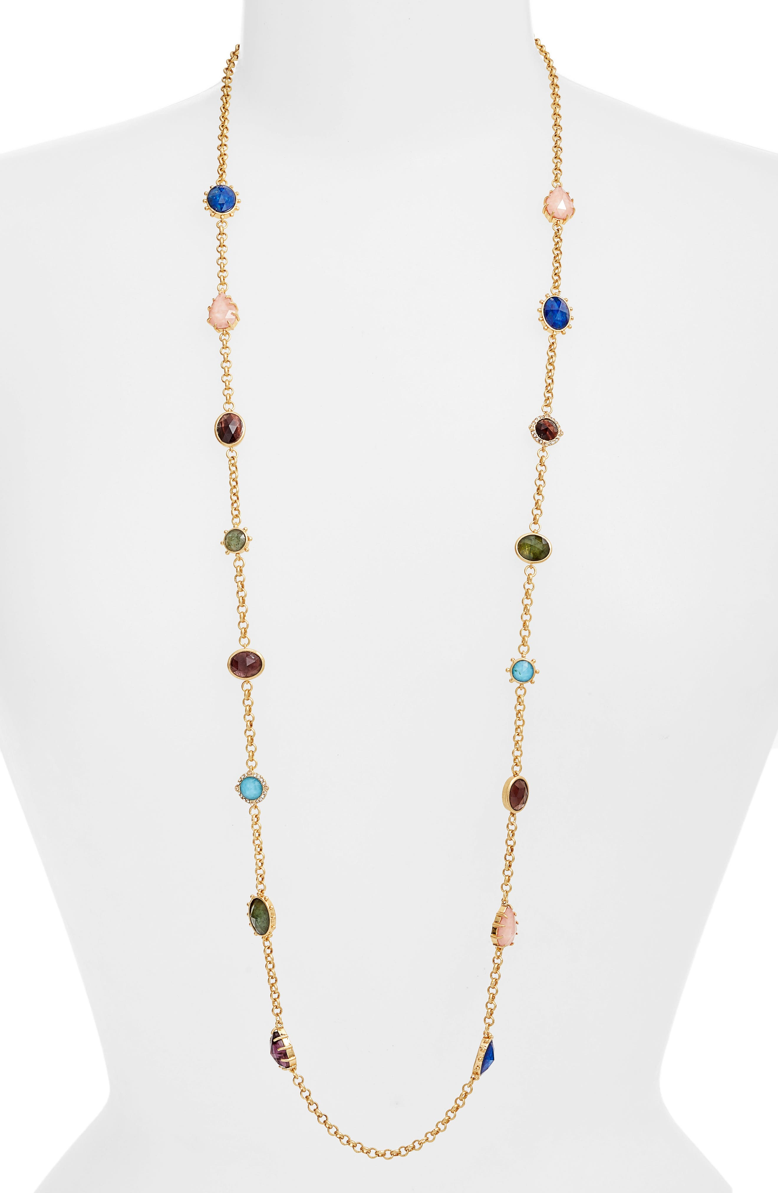 scatter necklace,                         Main,                         color, 710
