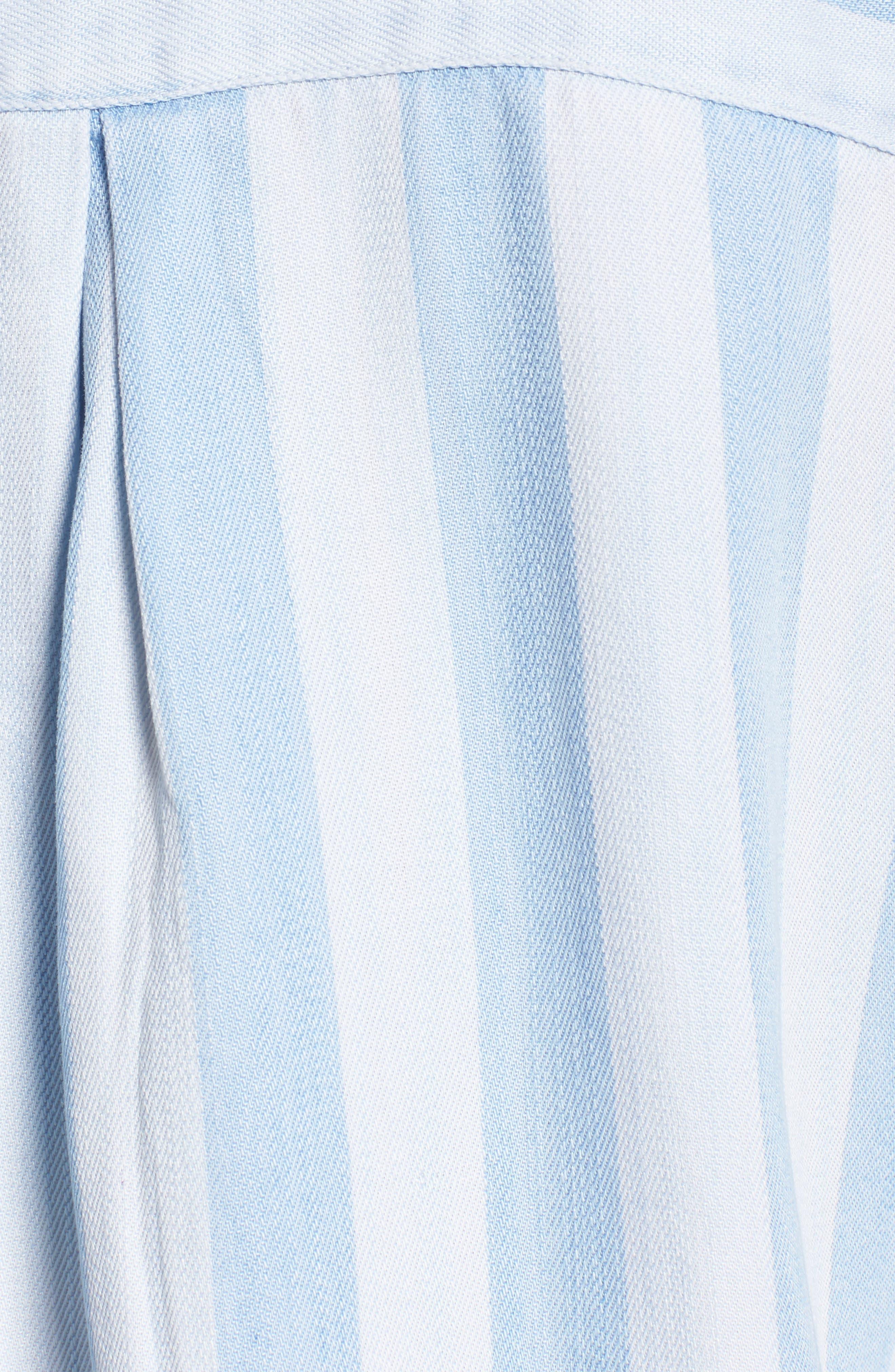 RAILS,                             Bishop Distressed Stripe Blouse,                             Alternate thumbnail 5, color,                             458