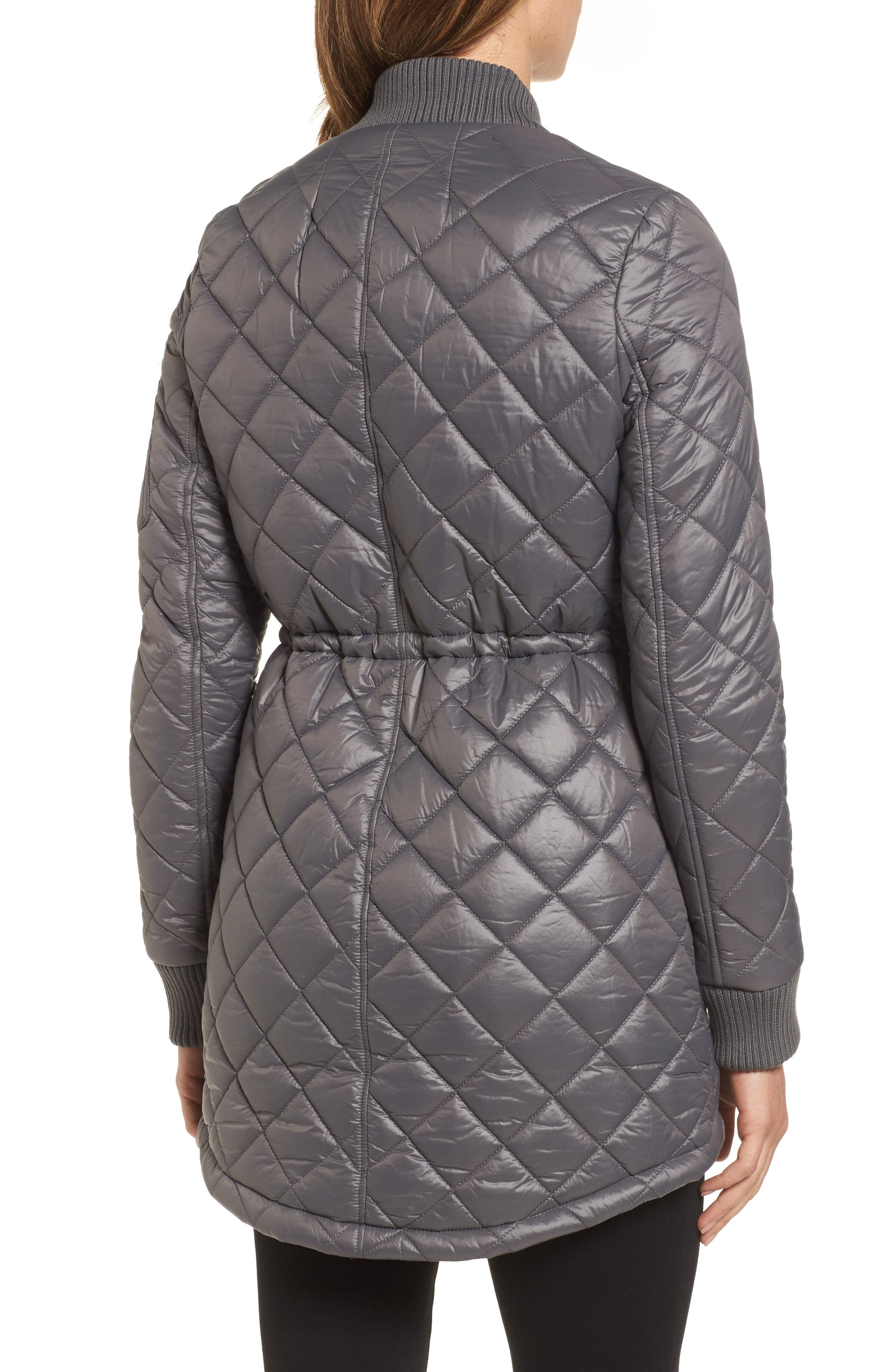 Quilted Anorak Jacket,                             Alternate thumbnail 5, color,