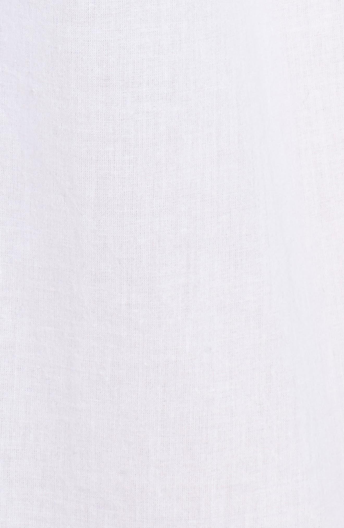 Cotton Voile Pleated Chemise,                             Alternate thumbnail 9, color,