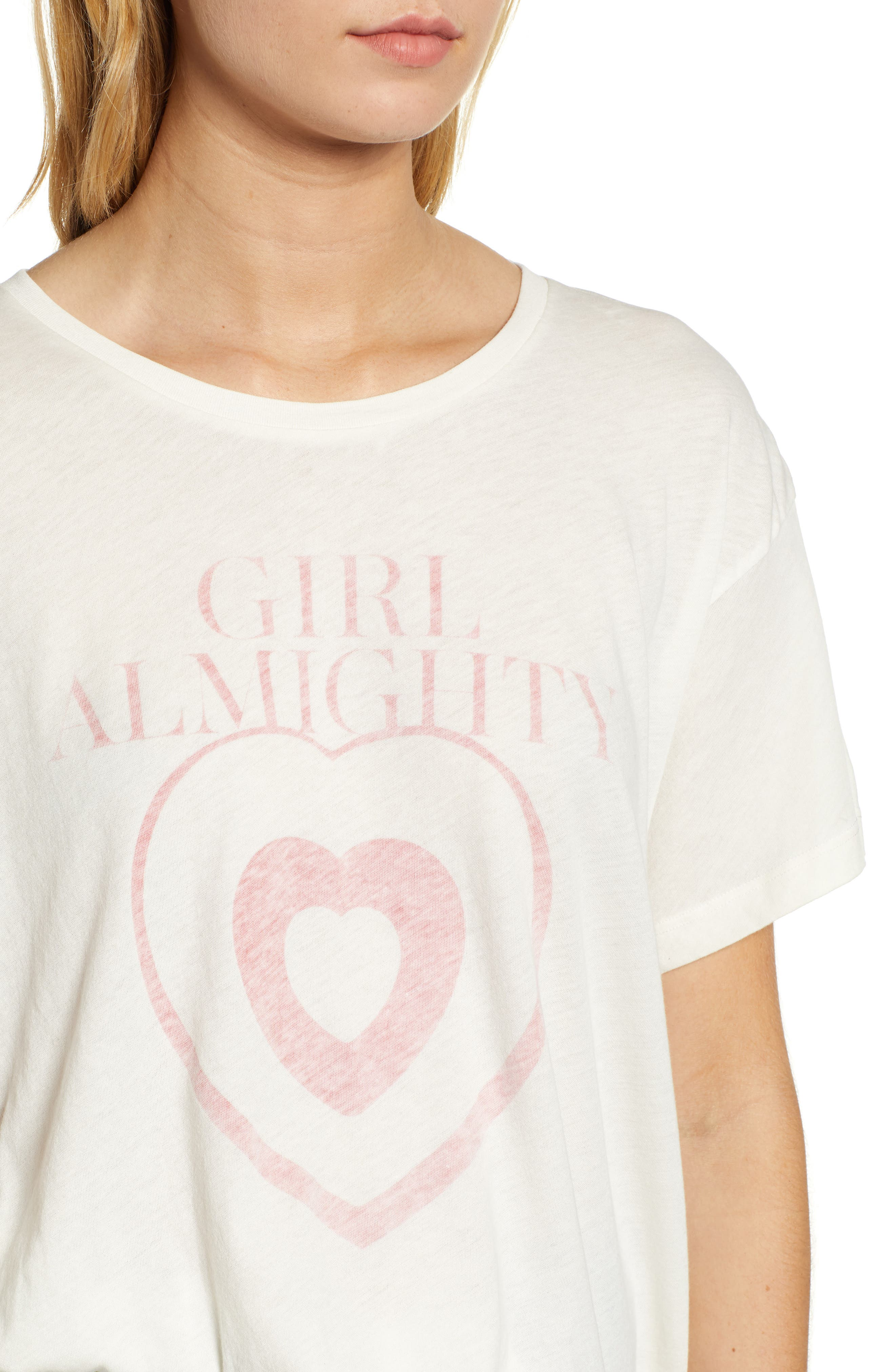 Girl Almighty Manchester Tee,                             Alternate thumbnail 4, color,                             101