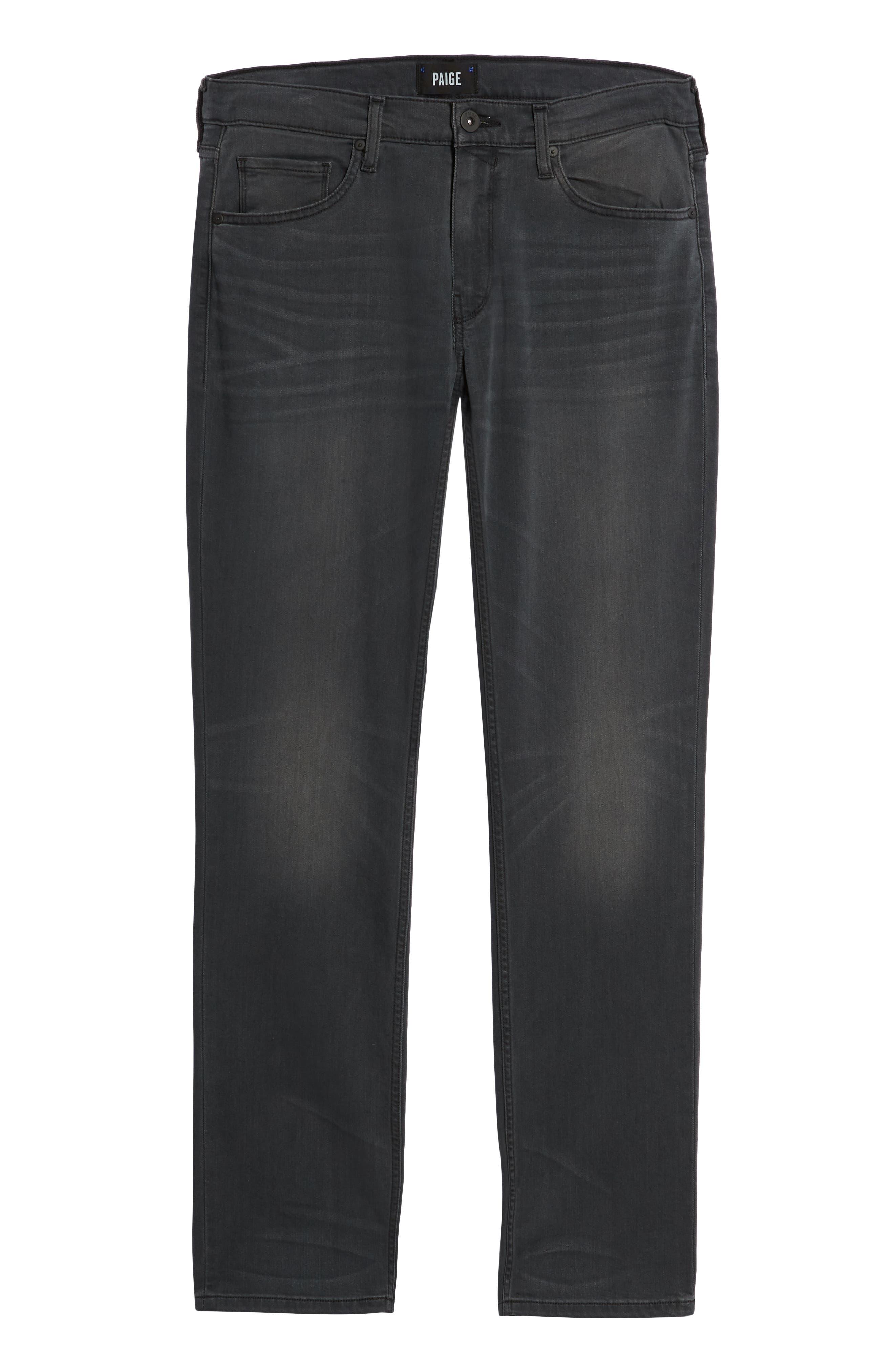 Transcend - Federal Slim Straight Leg Jeans,                             Alternate thumbnail 6, color,                             SHELDON