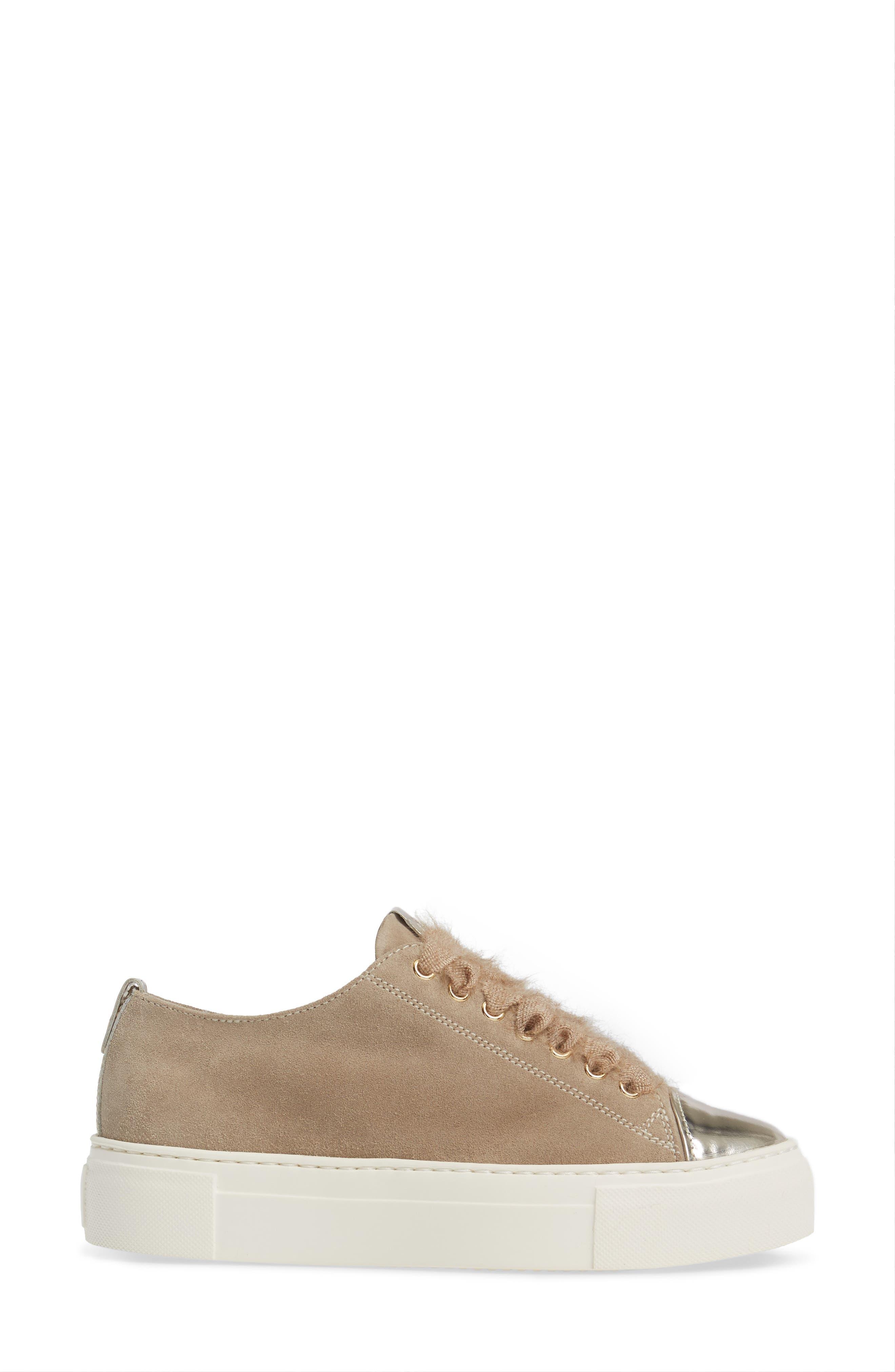 Cap Toe Platform Sneaker,                             Alternate thumbnail 9, color,