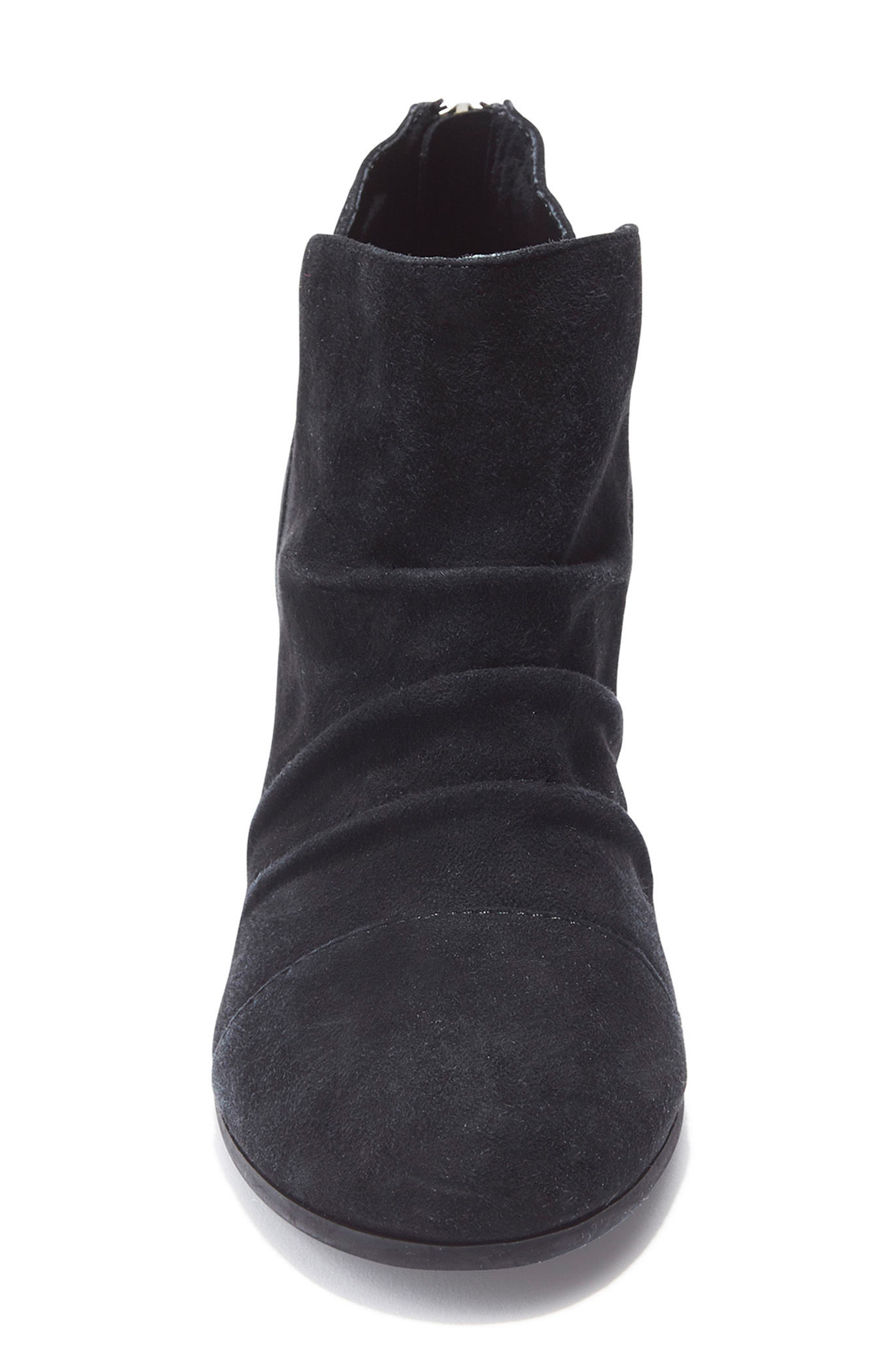 Adam Tucker Sierra Ruched Bootie,                             Alternate thumbnail 4, color,                             014