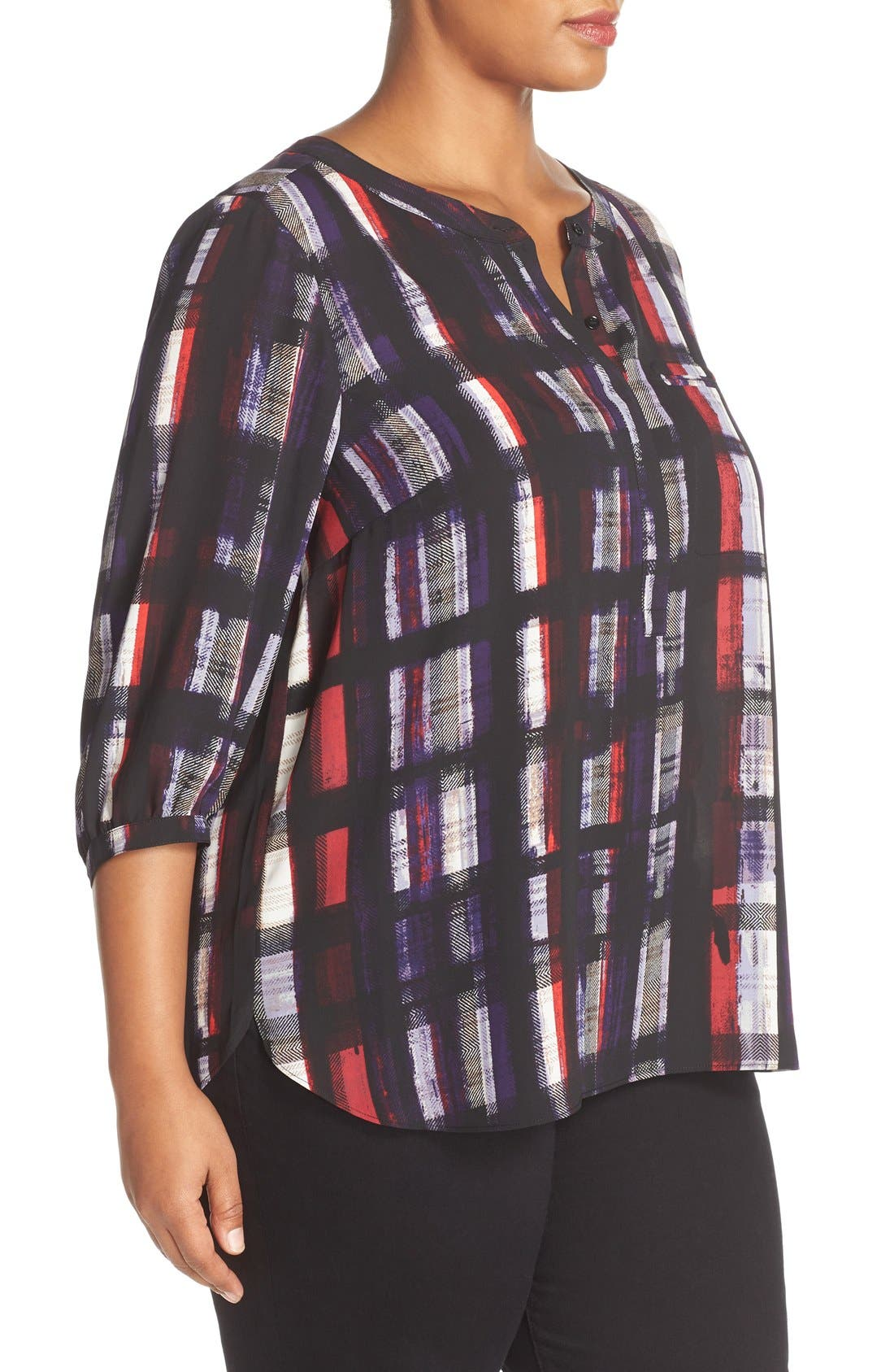 Henley Top,                             Alternate thumbnail 102, color,