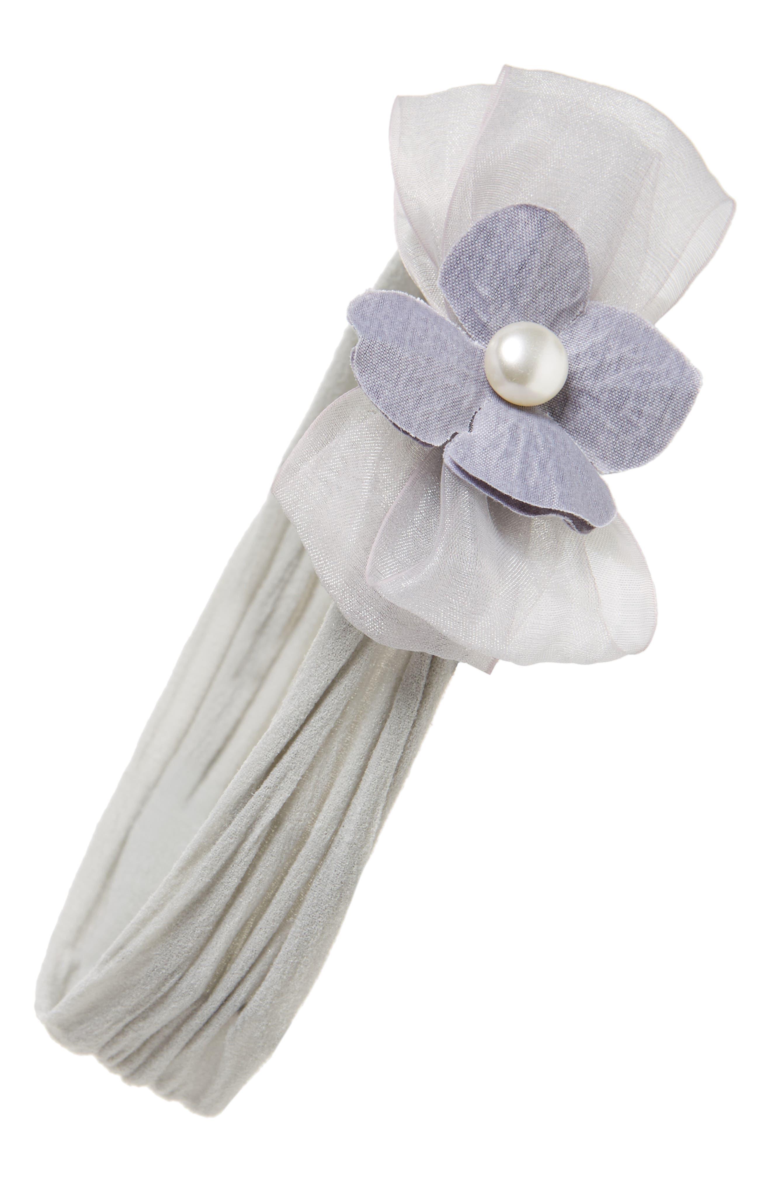 Pearly Headband,                         Main,                         color, 020