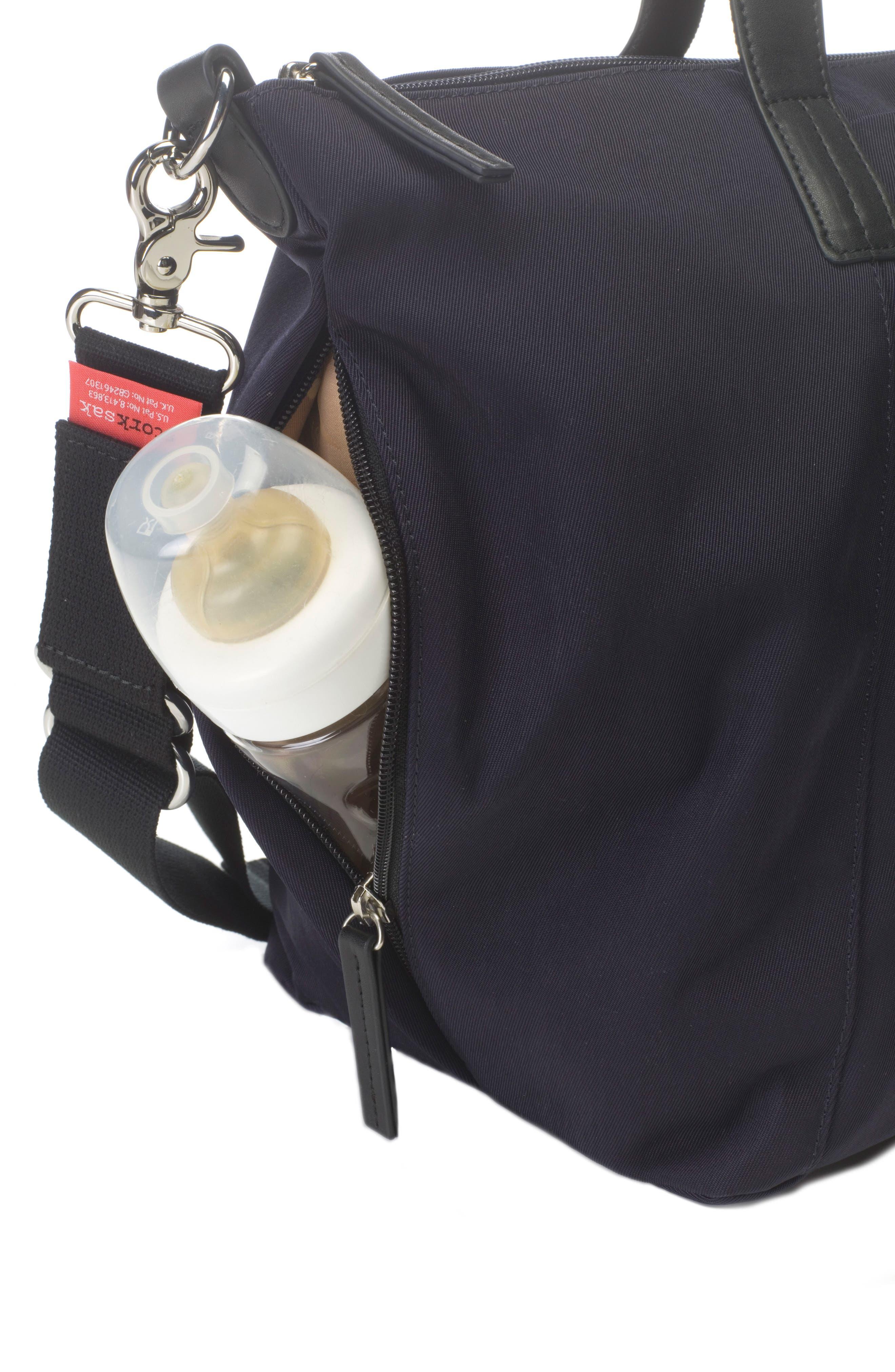 Noa Luxe Diaper Bag,                             Alternate thumbnail 5, color,                             410
