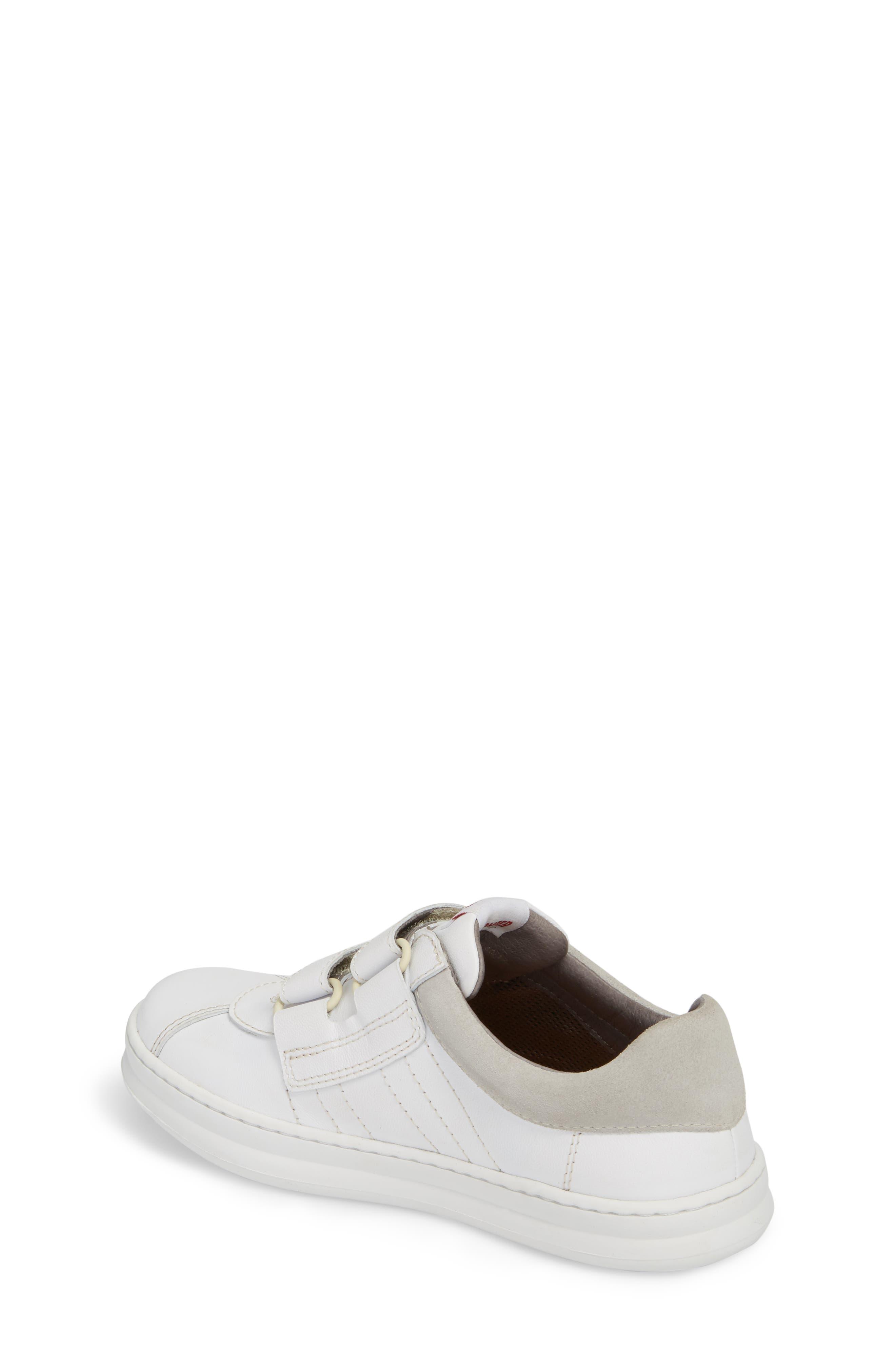 Runner Sneaker,                             Alternate thumbnail 2, color,                             WHITE