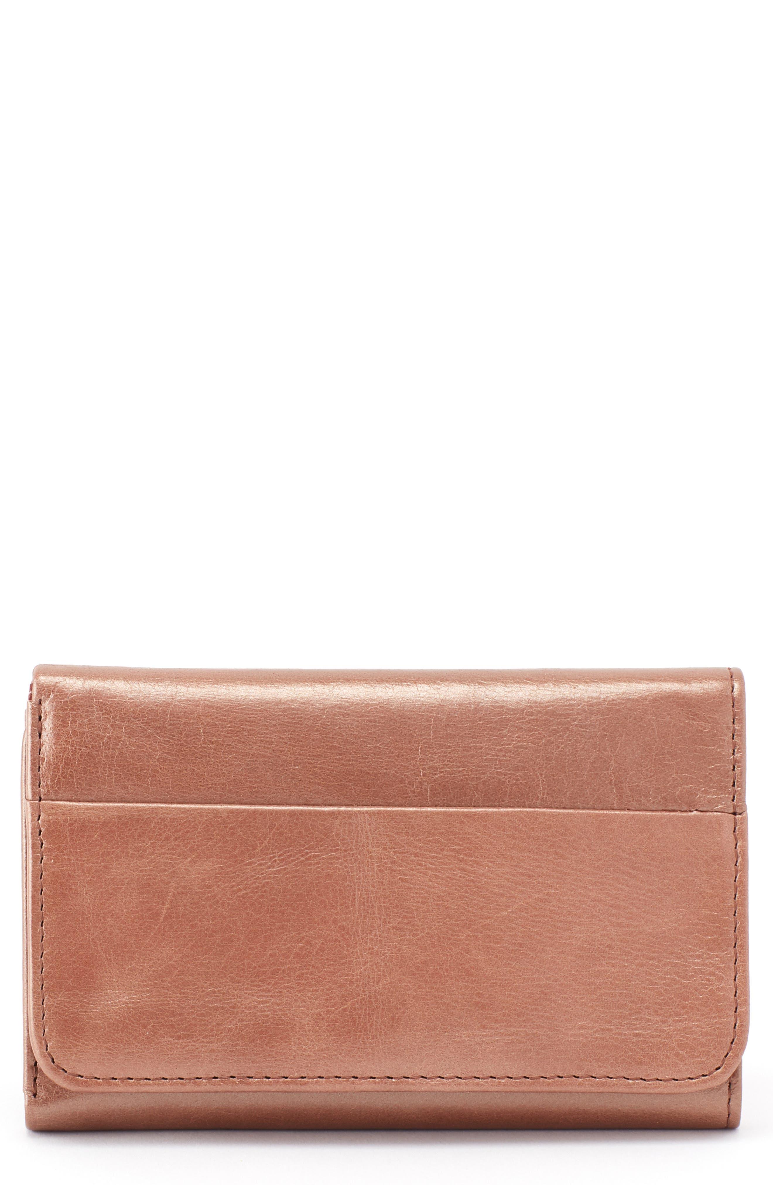 Jill Trifold Wallet,                         Main,                         color, CAMEO
