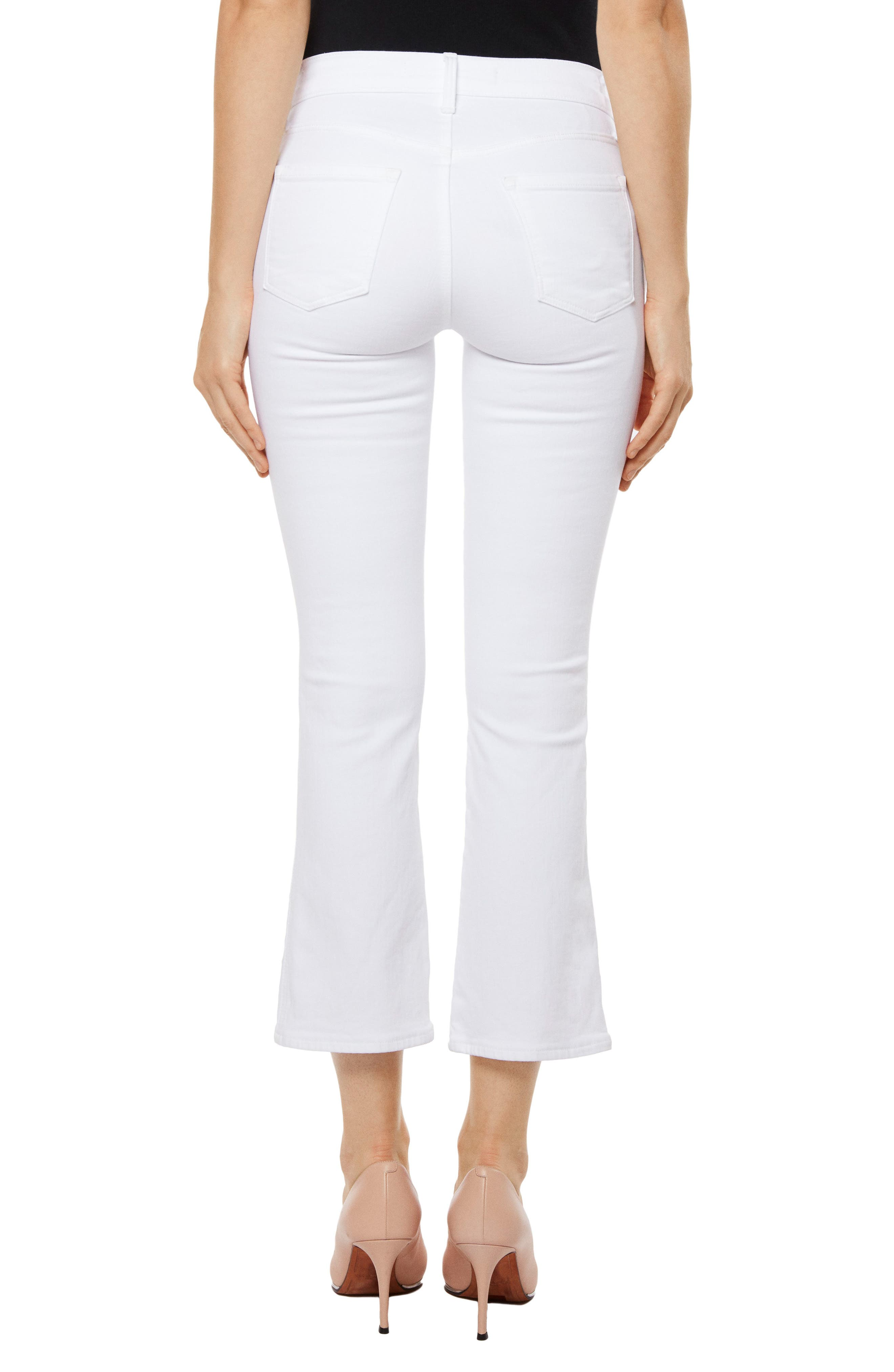 Zion Crop Flare Jeans,                             Alternate thumbnail 2, color,                             161