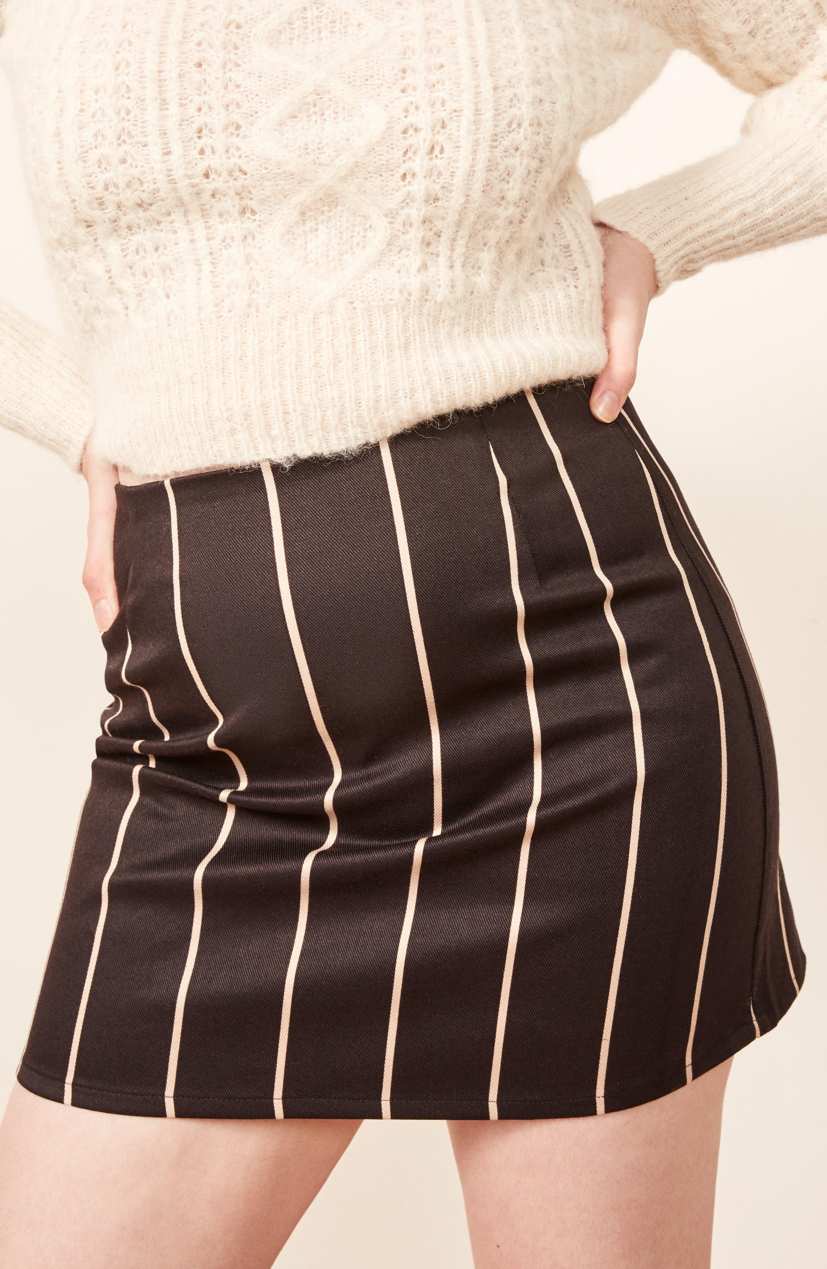 Jamie Miniskirt,                             Alternate thumbnail 4, color,                             002