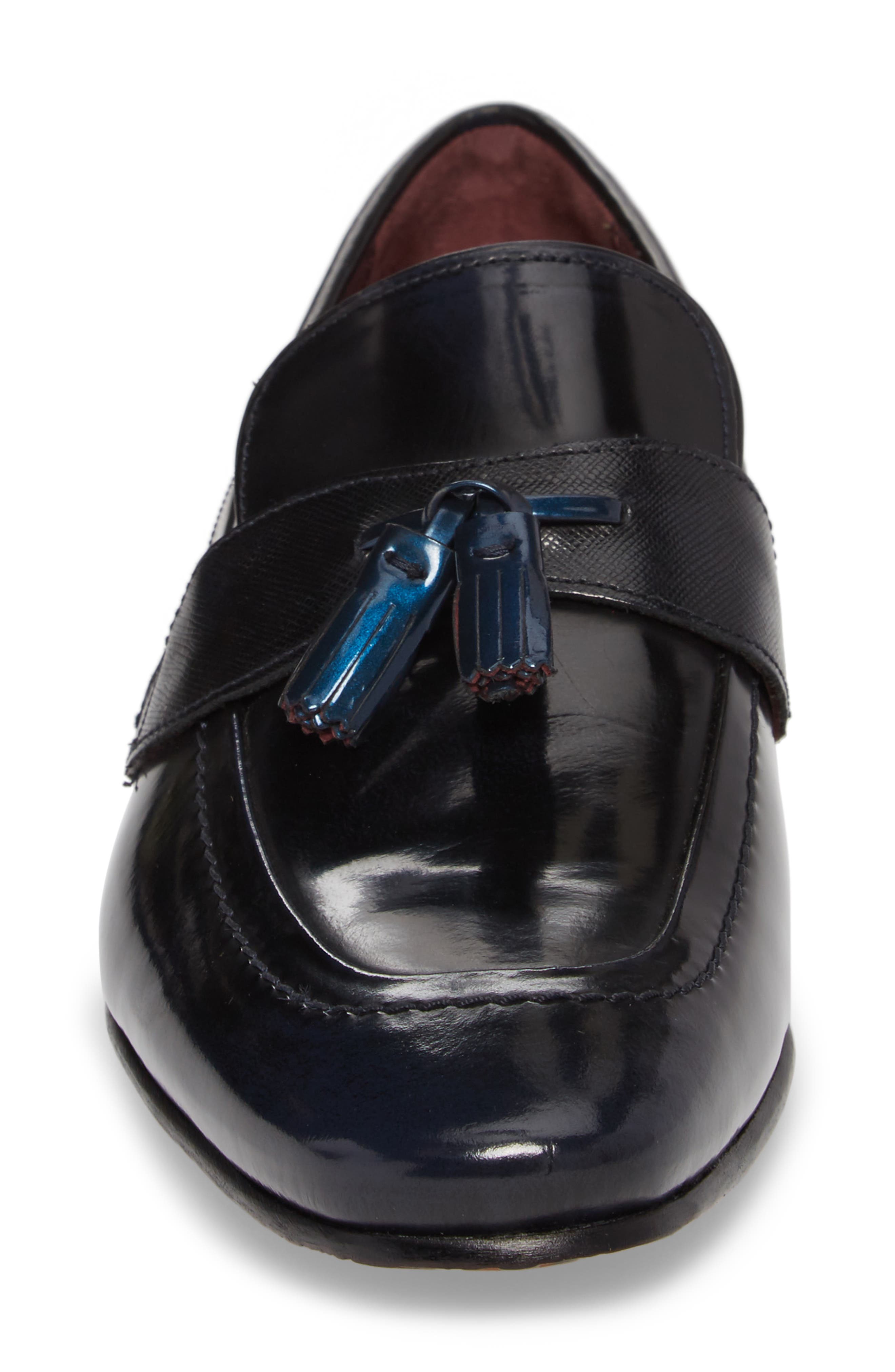Grafit Tassel Loafer,                             Alternate thumbnail 4, color,                             416