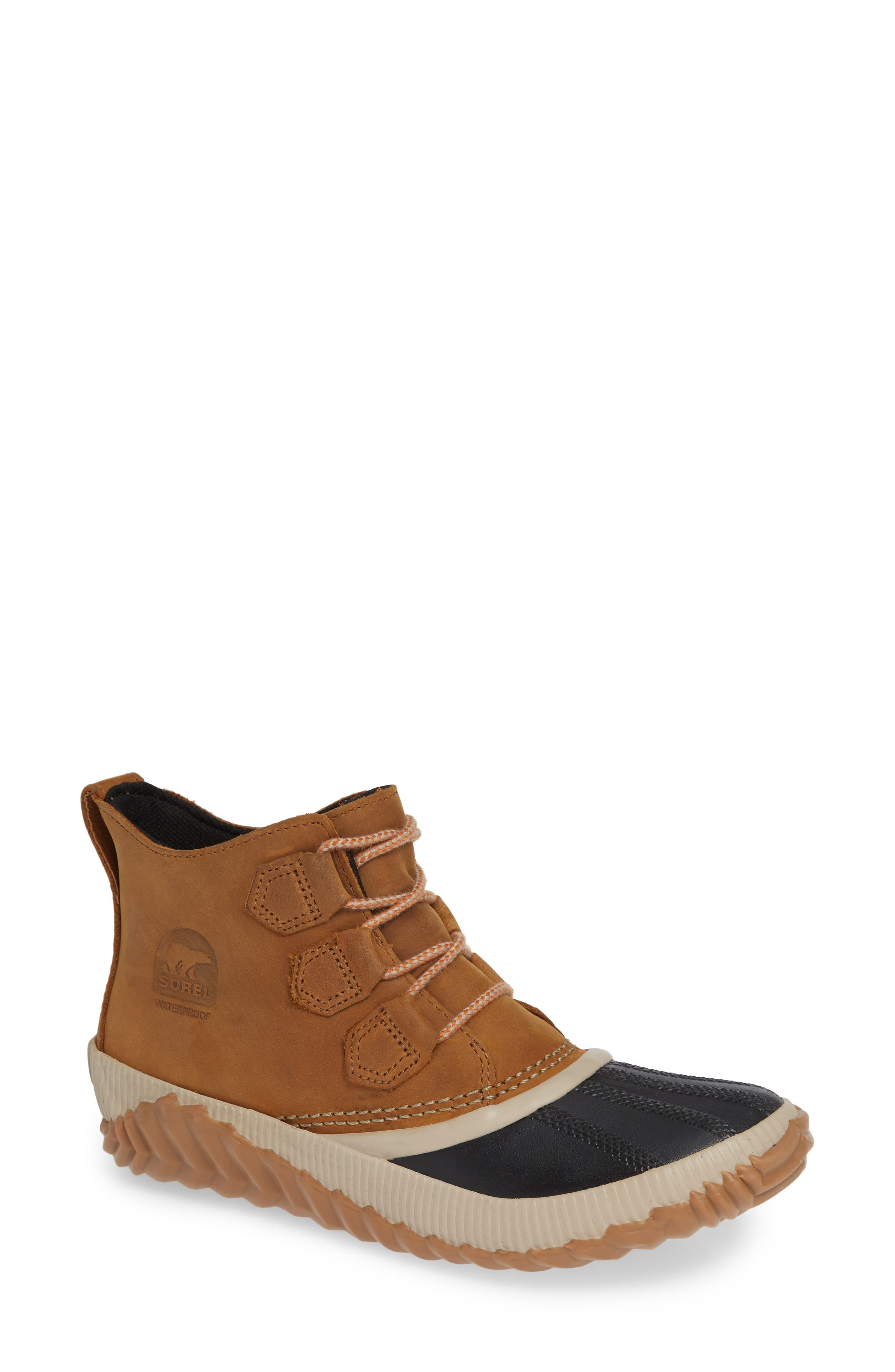 Sorel Out N About Plus Waterproof Bootie- Brown