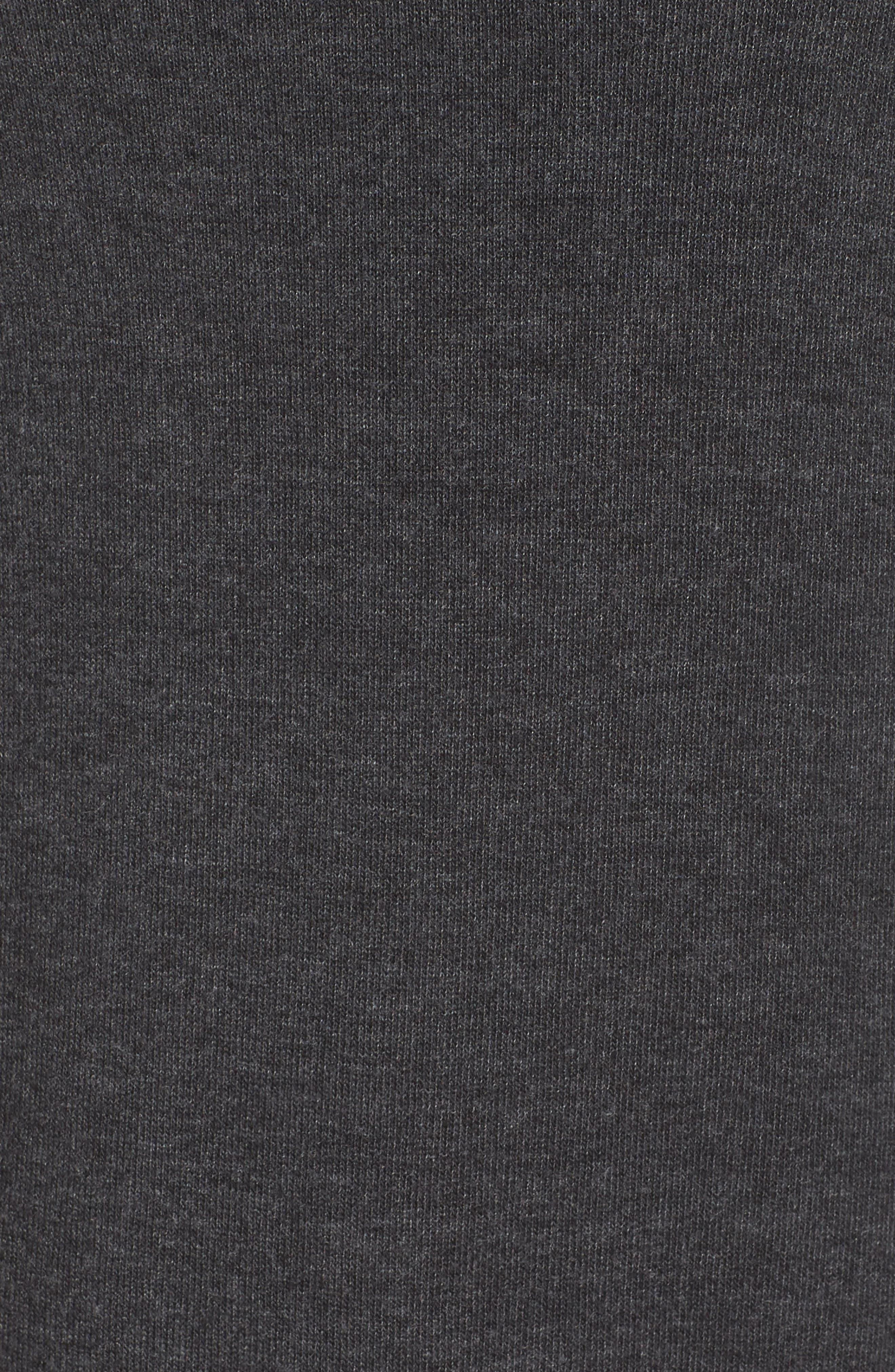 Love Wins Savasana Sweatshirt,                             Alternate thumbnail 6, color,                             VINTAGE BLACK