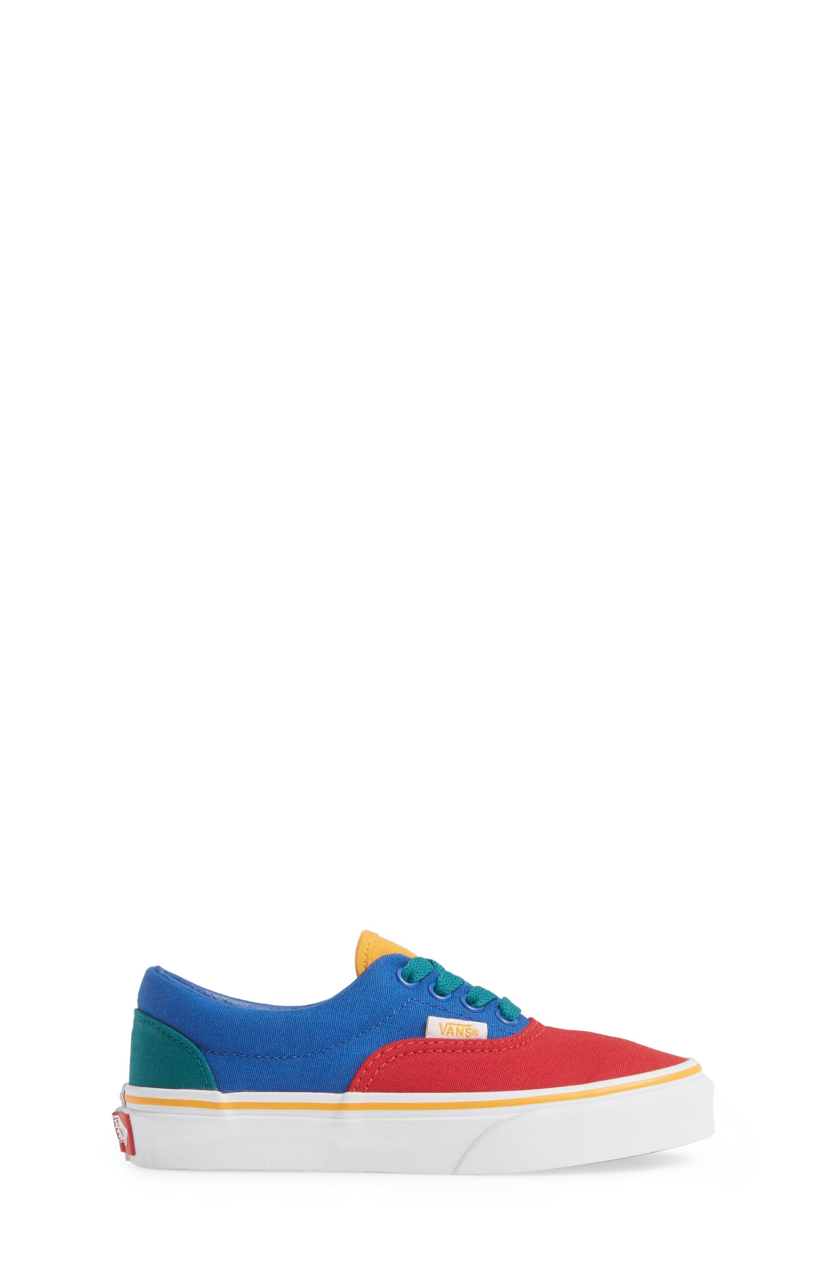 'Era' Sneaker,                             Alternate thumbnail 3, color,                             LAPIS BLUE/ TRUE WHITE